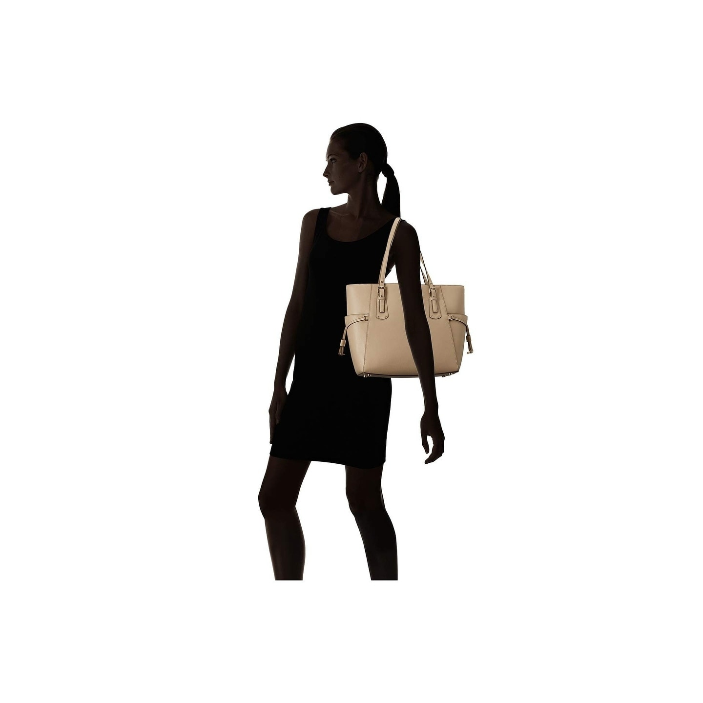 632b71c744c4 Shop MICHAEL Michael Kors Voyager East West Tote Oat - On Sale - Free  Shipping Today - Overstock - 23107807