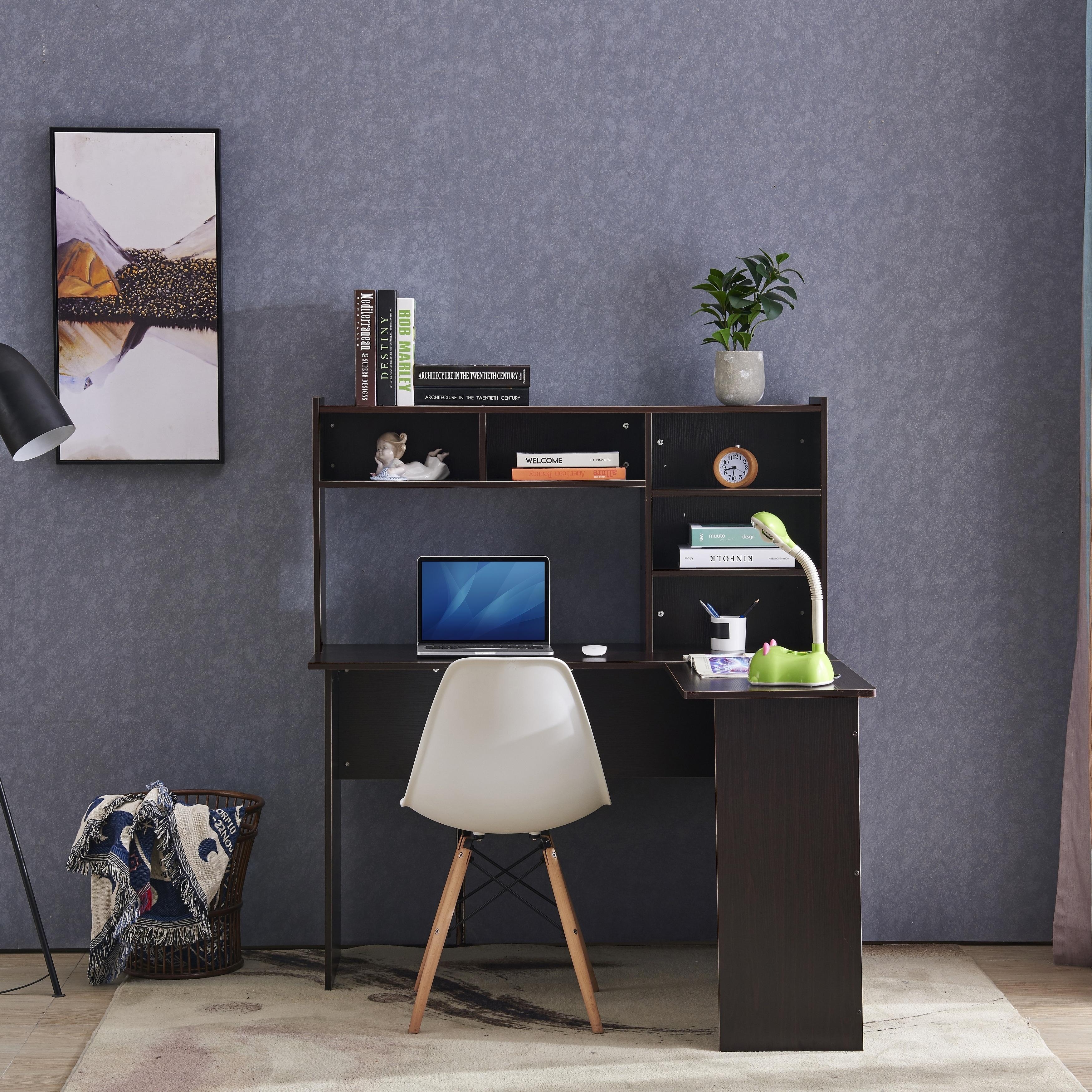 Mcombo L Shaped Desk Corner Desk Home Office Workstation