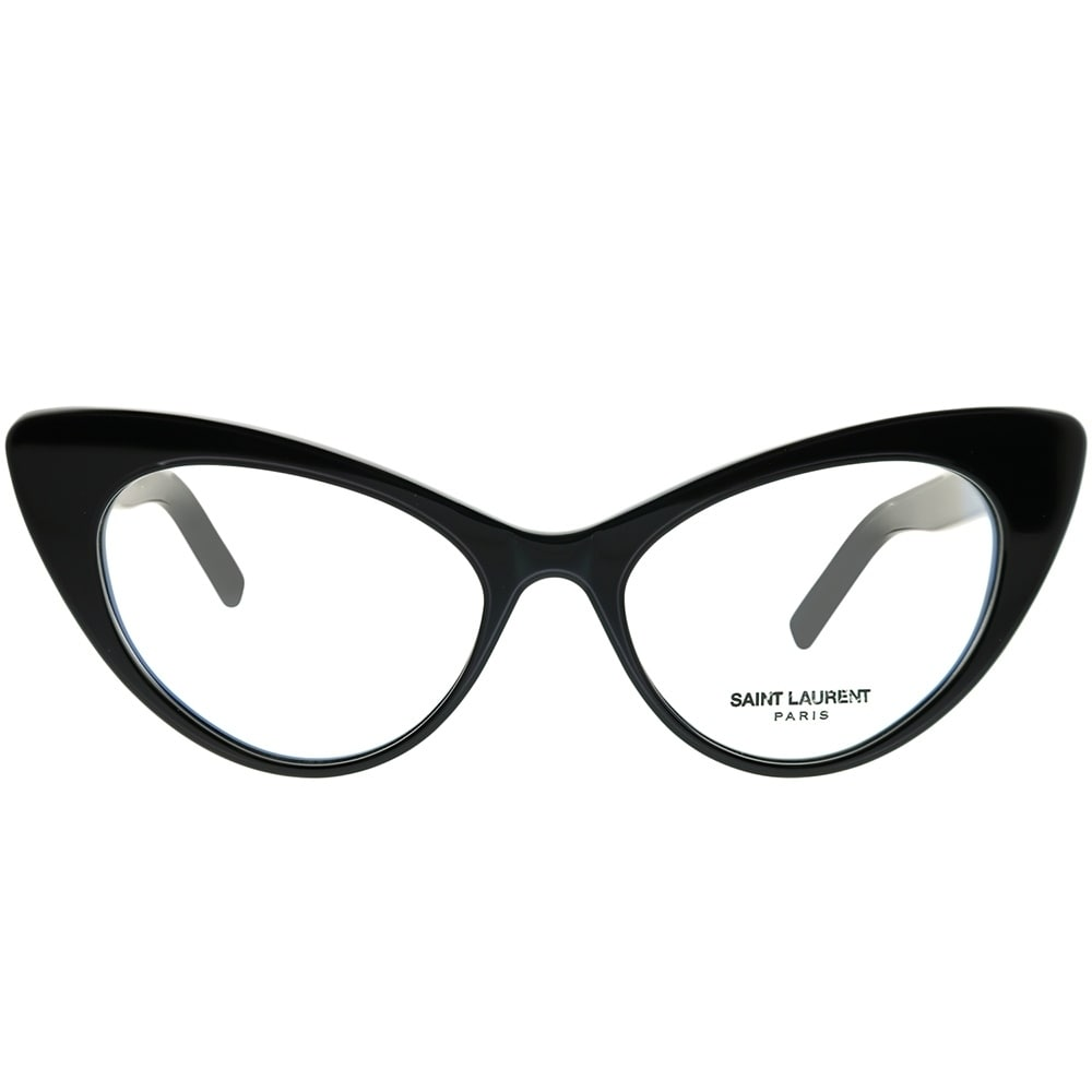 773e1ac8962 Shop Saint Laurent Cat-Eye SL 217 New Wave 001 Women Black Frame Eyeglasses  - Free Shipping Today - Overstock - 23115750