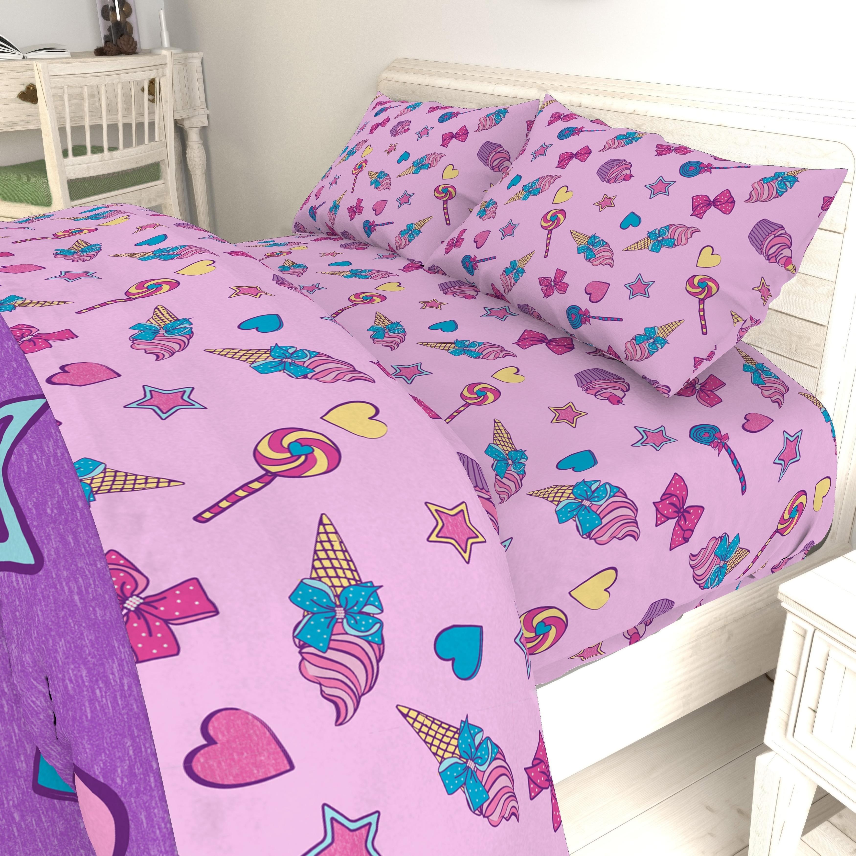 Shop Nickelodeon Jojo Siwa Dream Believe 4 Piece Twin Bed Set Free
