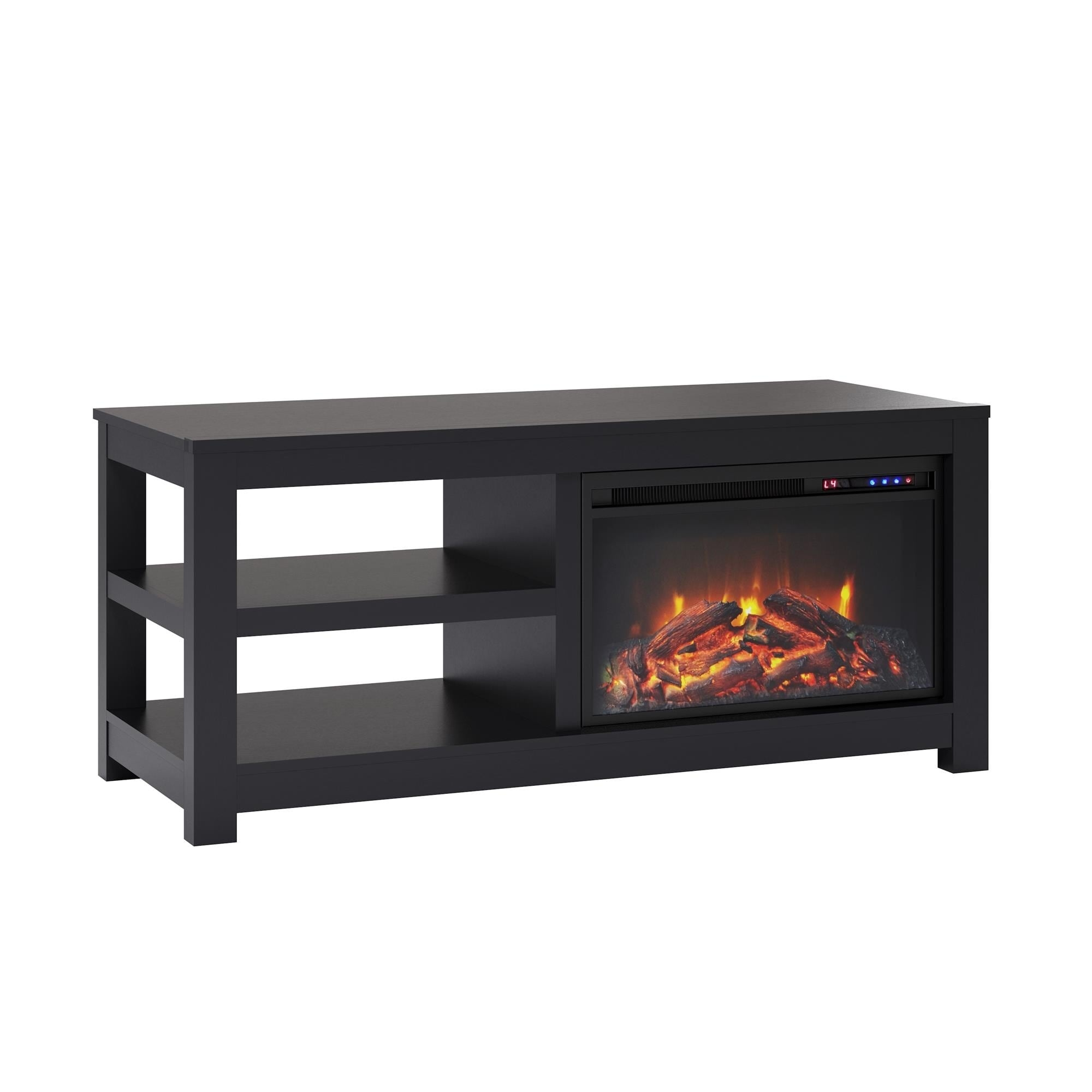 Shop Avenue Greene Jack Electric Fireplace Tv Stand For Tvs Up To 55