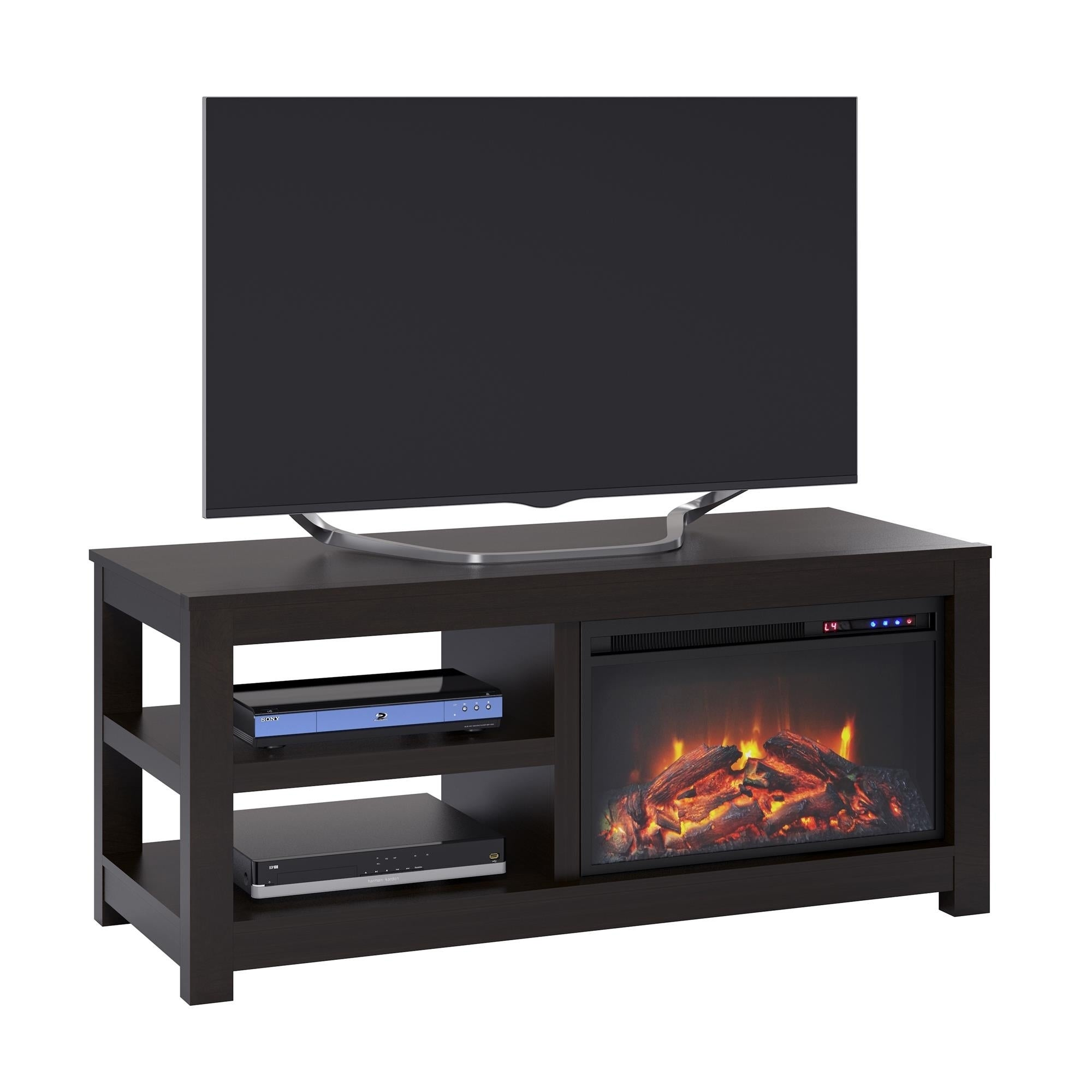 Avenue Greene Jack Electric Fireplace Tv Stand For Tvs Up To 55 Inches