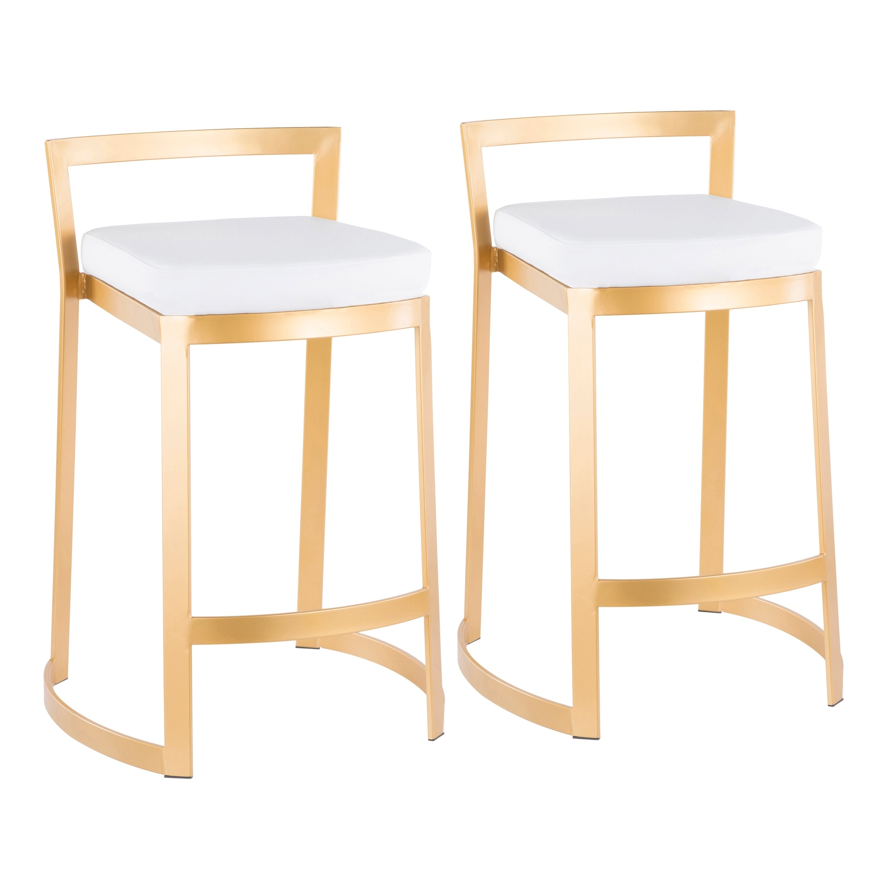 Shop fuji dlx gold counter stool set of 2 on sale free shipping today overstock com 23125577