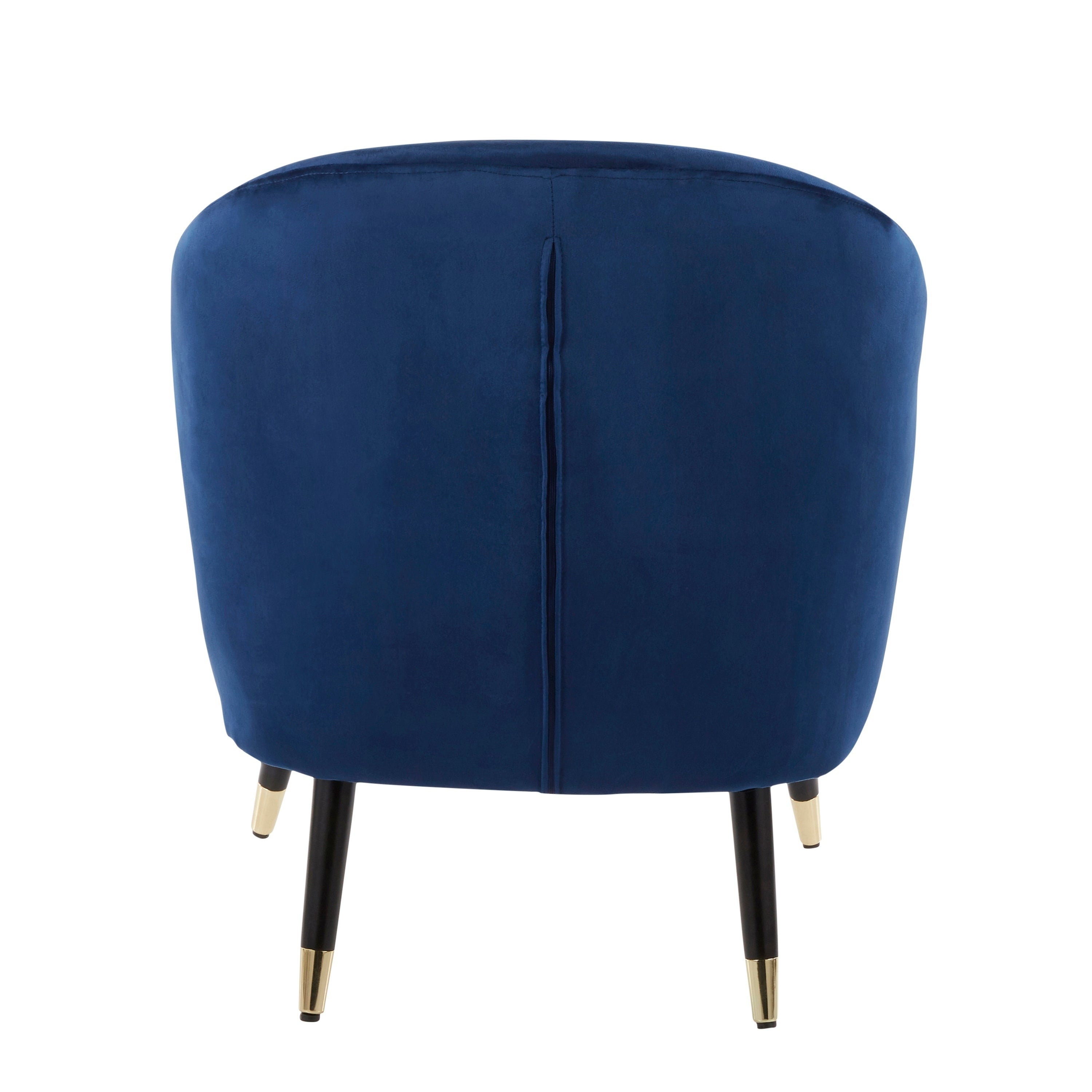 Shop Matisse Contemporary Glam Velvet Upholstered Accent Chair On