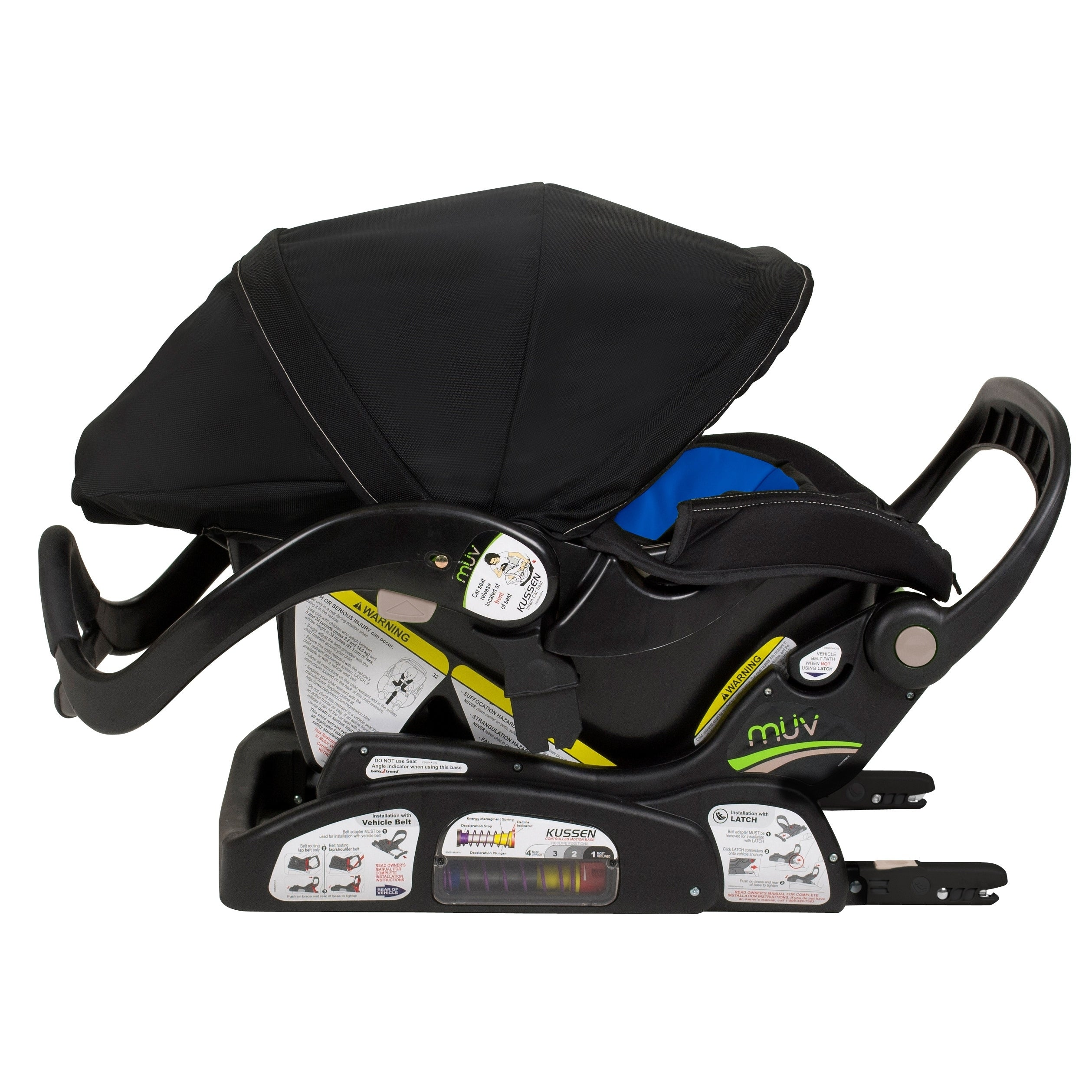 Energy Plus Kussen.Shop Muv Kussen Infant Car Seat Sky Ships To Canada Overstock