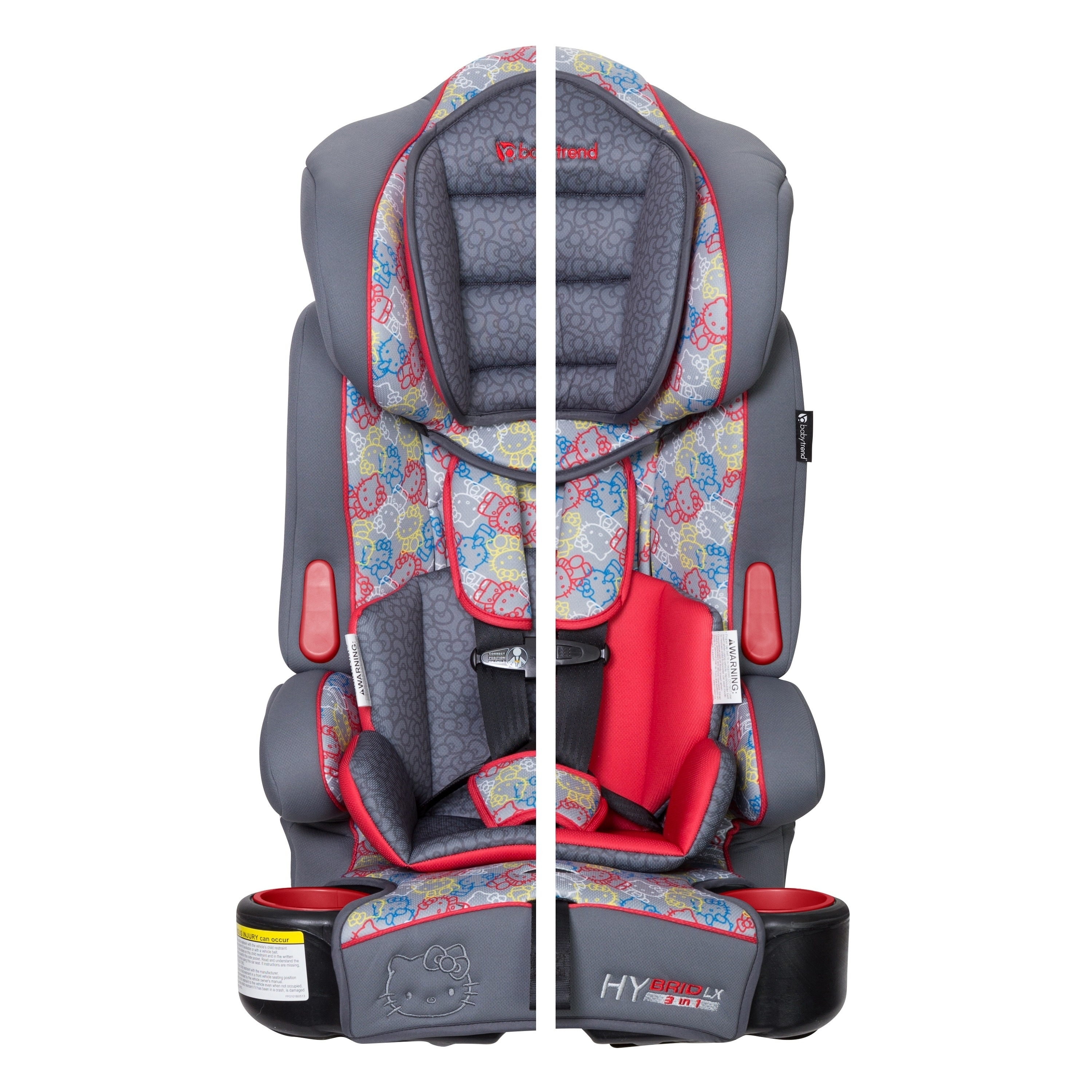 Baby Trend Hybrid Lx 3 In 1 Car Seat Hello Kitty Expressions Free Shipping Today 23128405
