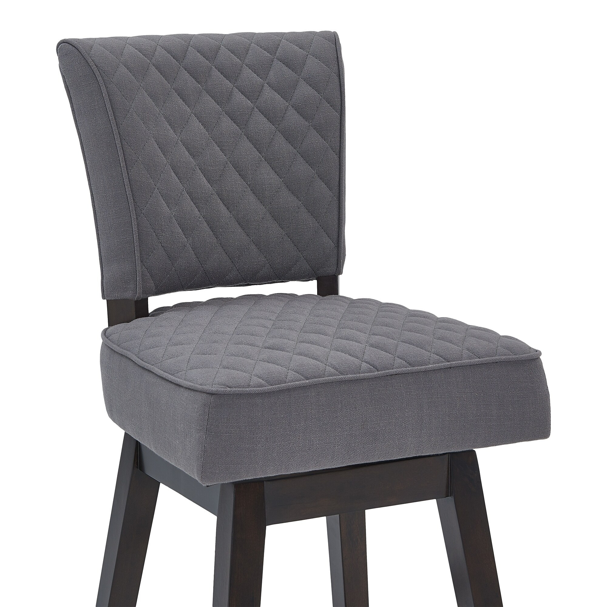 Shop Knowles Wood Swivel Barstool   Free Shipping Today   Overstock    23133977