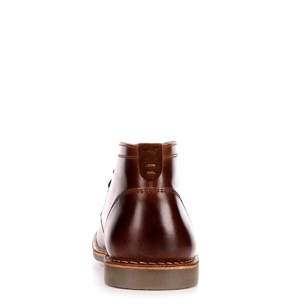 bbdec89c8f244 Shop Franco Fortini Mens Hudson Lace Up Chukka Boot Shoes, Dark Tan - Free  Shipping Today - Overstock - 23134950