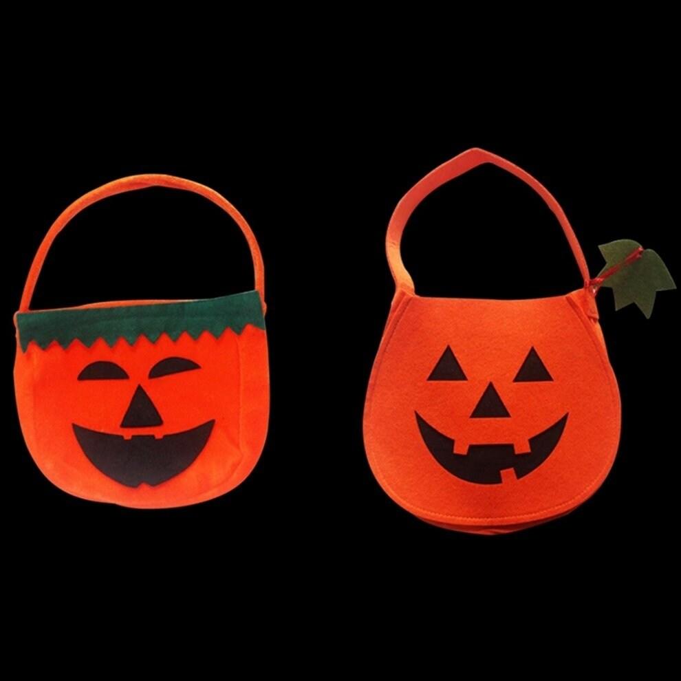 shop pumpkin candy hand bags candy storage halloween for boys girls