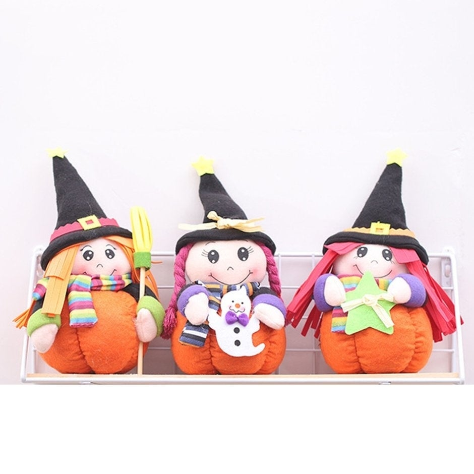 Halloween decoration desktop witches dolls ghost festival bar dance party  mall hotel gifts gift dress up supplies