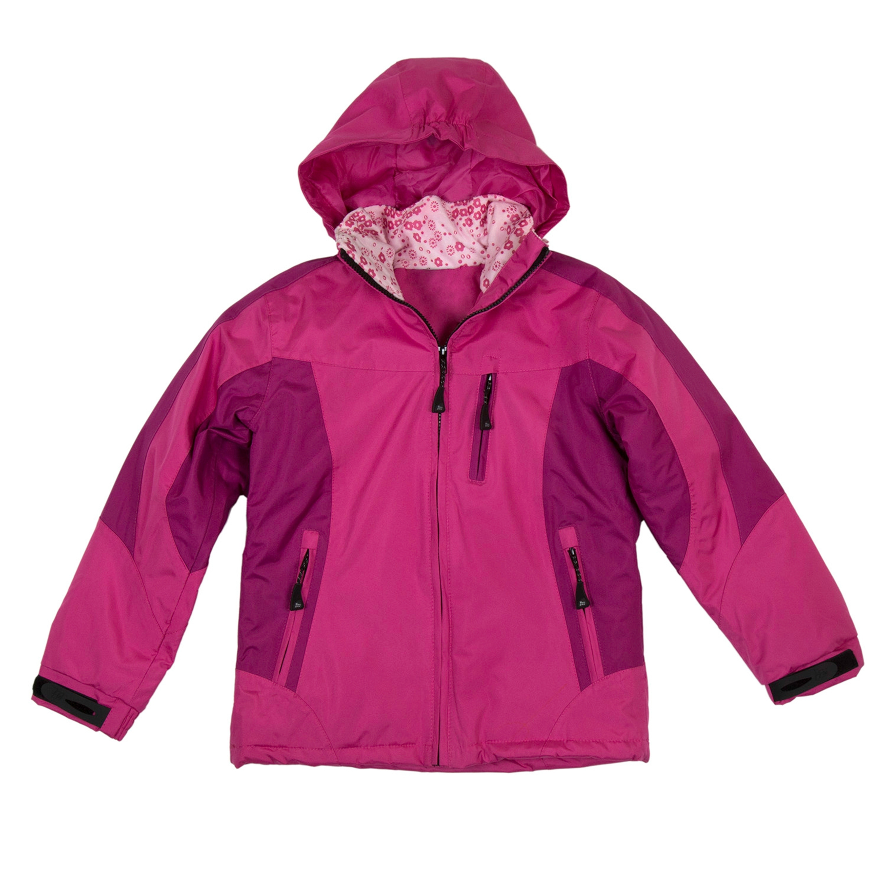 9be8e0c1a Shop Mossi Youth Flurry Girls Jacket - Free Shipping On Orders Over $45 -  Overstock - 23150832