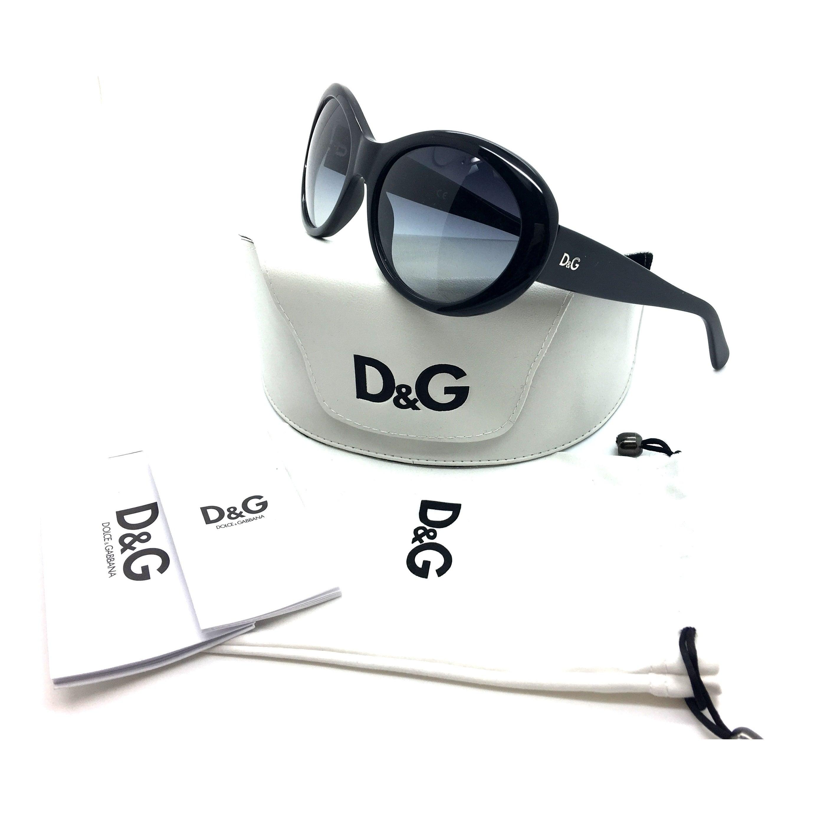 55788a978881 Shop Dolce   Gabbana Black Luxury Fashion Female Sunglasses DD 3058 501 8G  57MM - Free Shipping Today - Overstock - 23169887