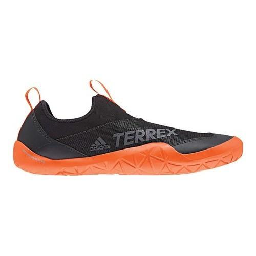 low cost 895ef e5cde Men's adidas Terrex Climacool Jawpaw II Slip On Water Shoe  Orange/Black/Carbon