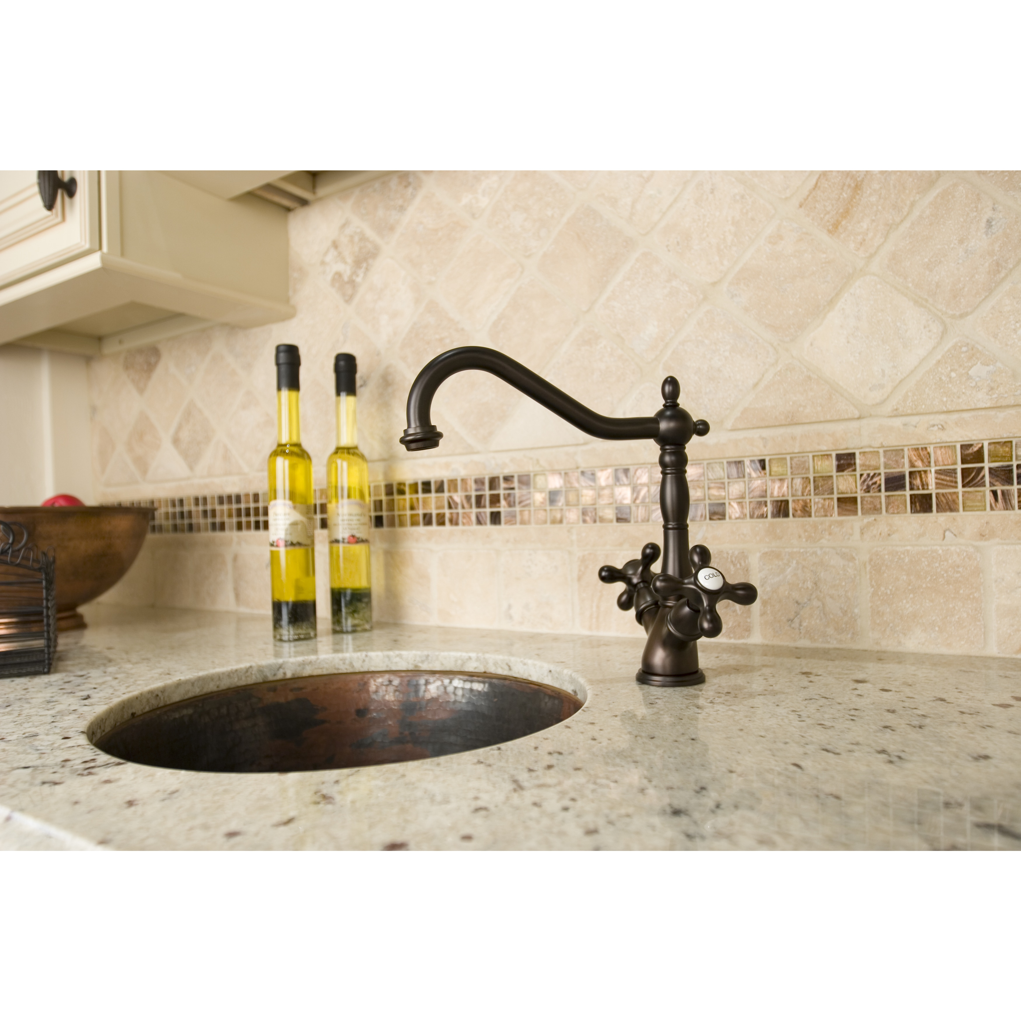 Oil-rubbed Bronze Kitchen Faucet - Free Shipping Today - Overstock ...