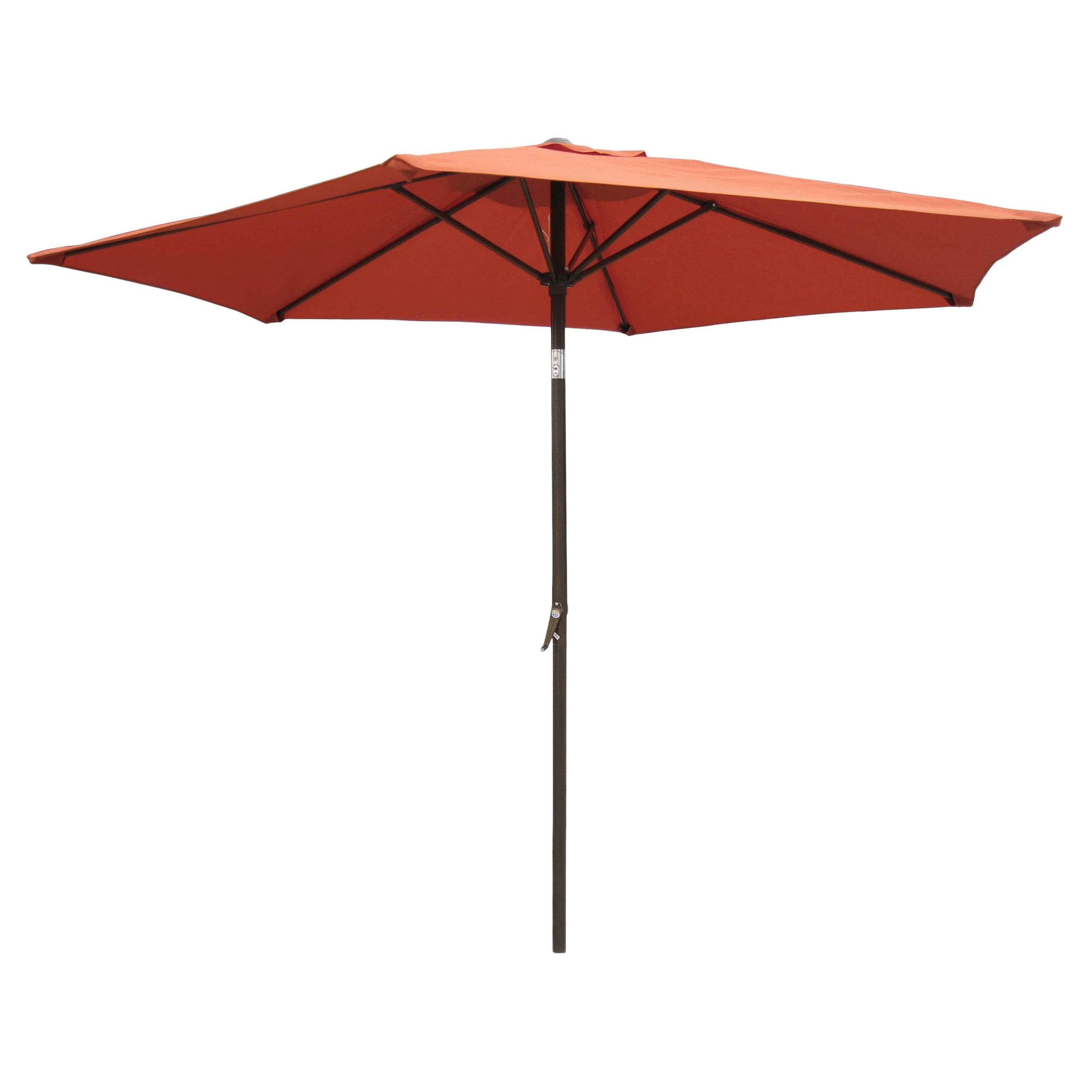 Shop International Caravan Patio Umbrella 8 Foot   Free Shipping Today    Overstock.com   2334485