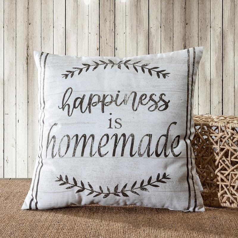 Shop Farmhouse Vintage Quotes Animal Decorative Throw Pillow Awesome Homemade Decorative Pillows