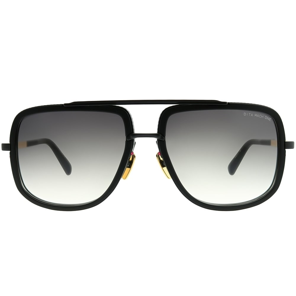 e6dea5994472 Shop Dita Aviator DRX-2030 Mach-One G-BLK-18K Unisex Matte Black Frame Dark  Grey Gradient AR Lens Sunglasses - Free Shipping Today - Overstock -  23431887
