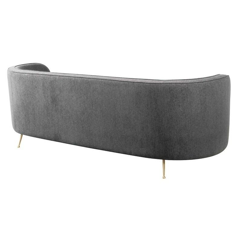 Flare Grey Tweed Sofa Free Shipping Today 23432631