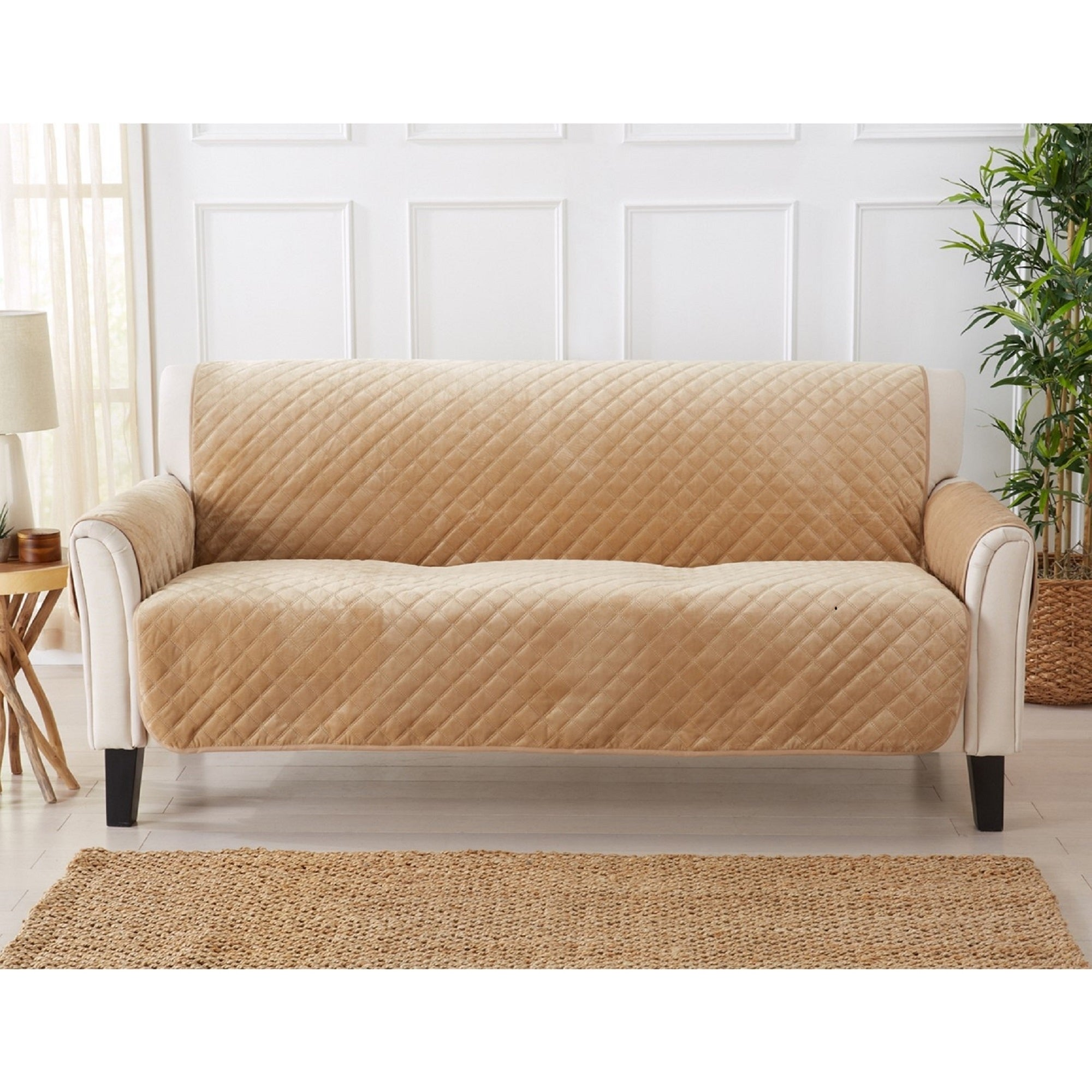 Sofa Saver Velvet Solid Furniture Protector On Free Shipping Today 23444192