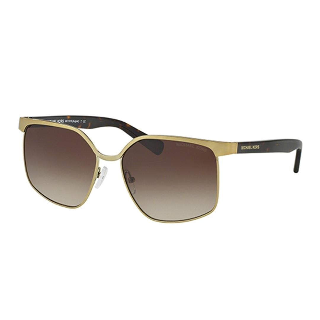 7bed83a87a3e0 Shop Michael Kors MK1018 August Women Sunglasses - Brown - Free Shipping  Today - Overstock - 23446564