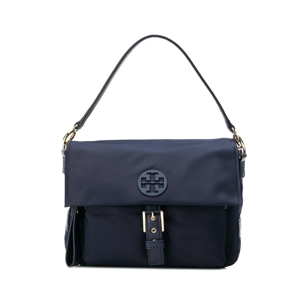 5f1ee469a72 Shop Tory Burch Tilda Nylon Crossbody Bag Navy - Free Shipping Today -  Overstock - 23449863