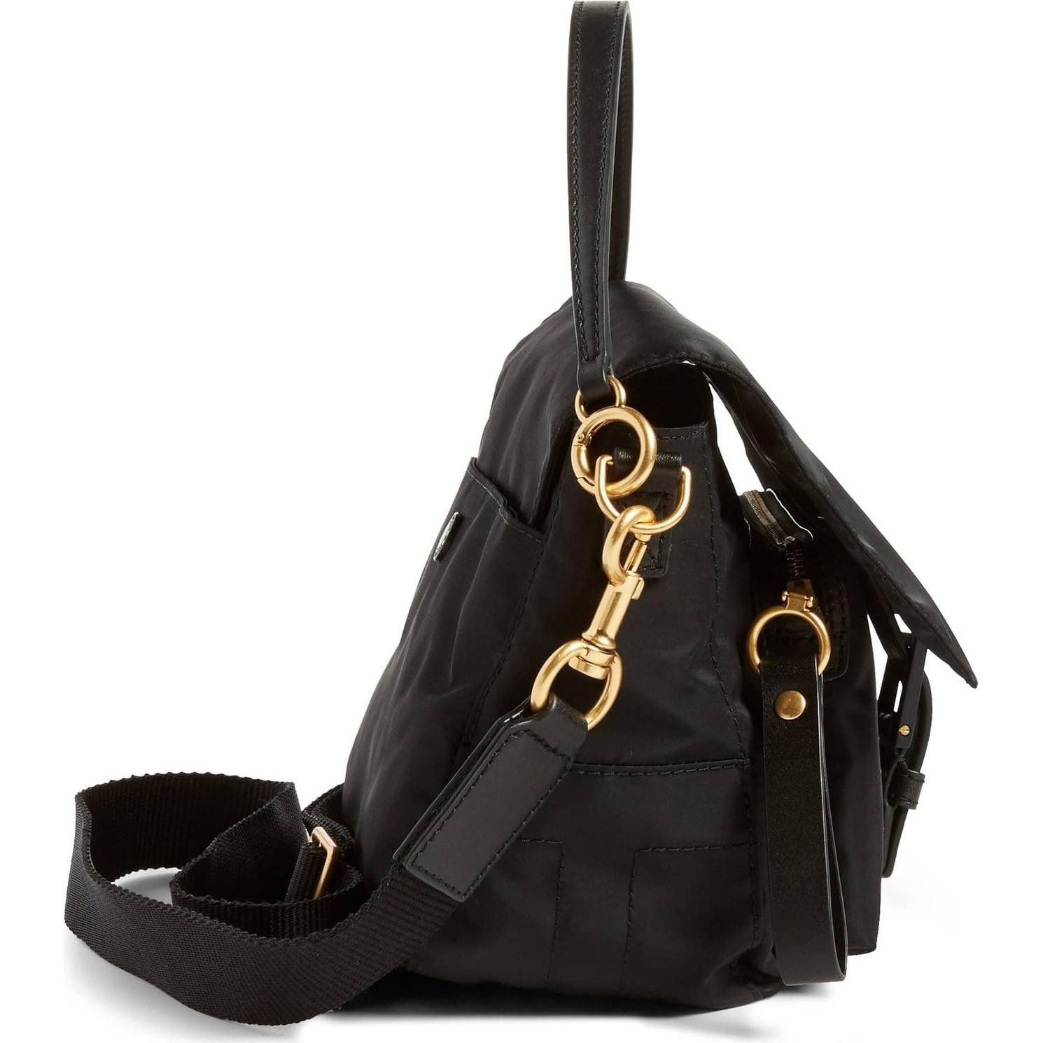 2faac0d040c3 Shop Tory Burch Tilda Nylon Crossbody Bag Black - Free Shipping Today -  Overstock - 23449864