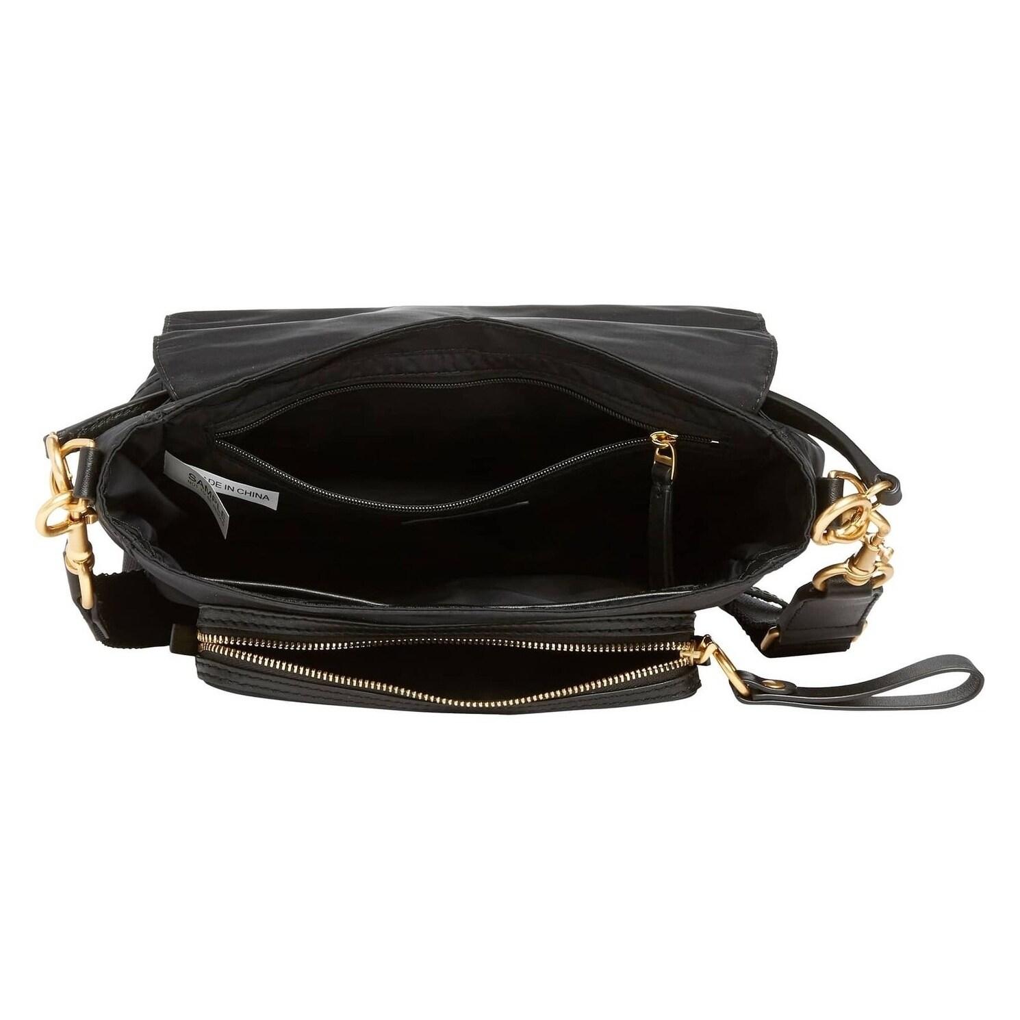 695aaf32ac72 Shop Tory Burch Tilda Nylon Crossbody Bag Black - Free Shipping Today -  Overstock - 23449864