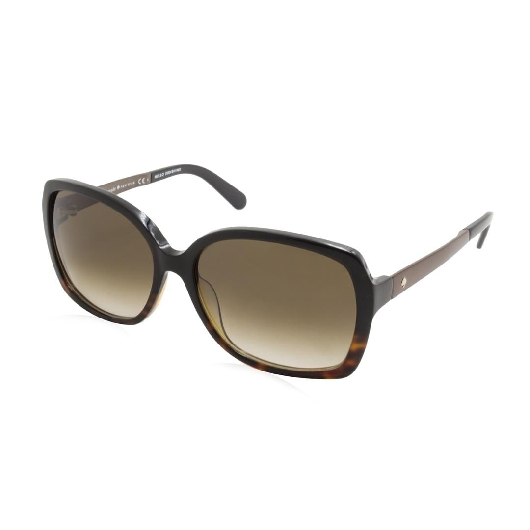 0c189d1c1c Shop Kate Spade Darilynn S Women Sunglasses - Brown - Free Shipping Today -  Overstock - 23465798