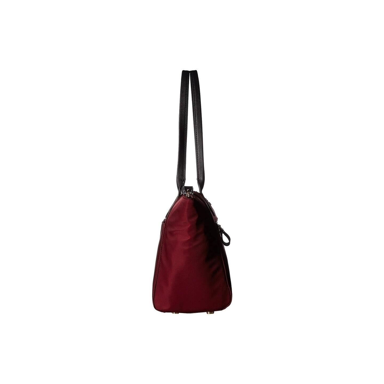 4598deecad5a Shop MICHAEL Michael Kors Kelsey Medium Top-Zip Tote Plum - Free Shipping  Today - Overstock - 23465880