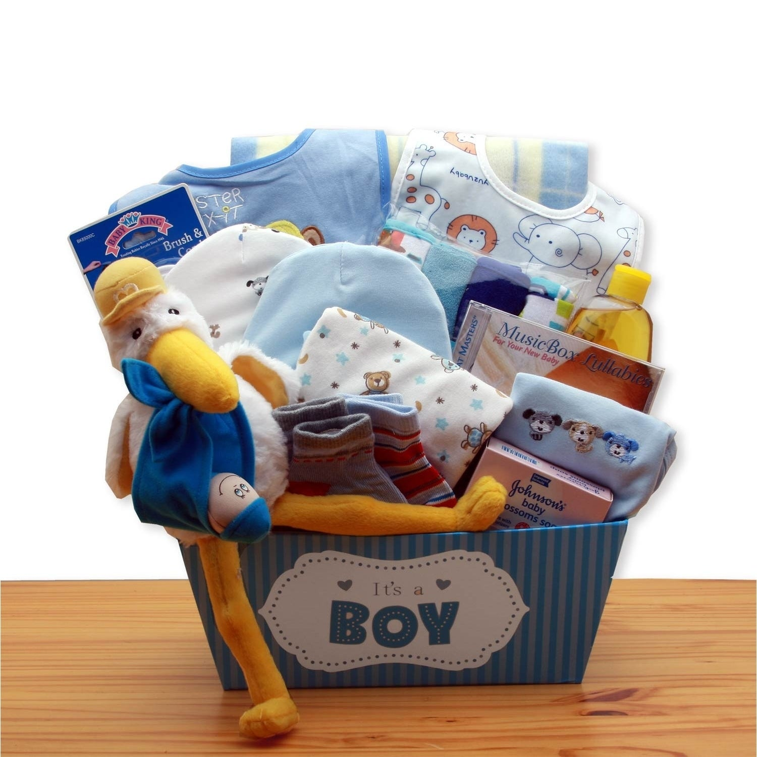 Shop A Special Delivery New Baby Gift Basket - Blue - Free Shipping Today - Overstock - 23505709  sc 1 st  Overstock.com & Shop A Special Delivery New Baby Gift Basket - Blue - Free Shipping ...