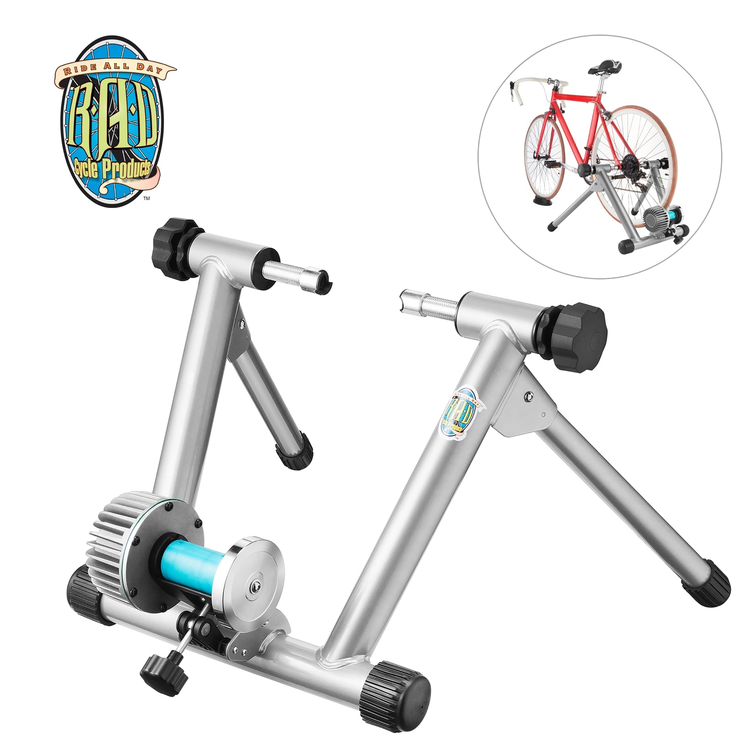 Fluid Bike Trainer >> Shop Rad Cycle Hydromag Trainer Bicycle Trainer Portable Fluid