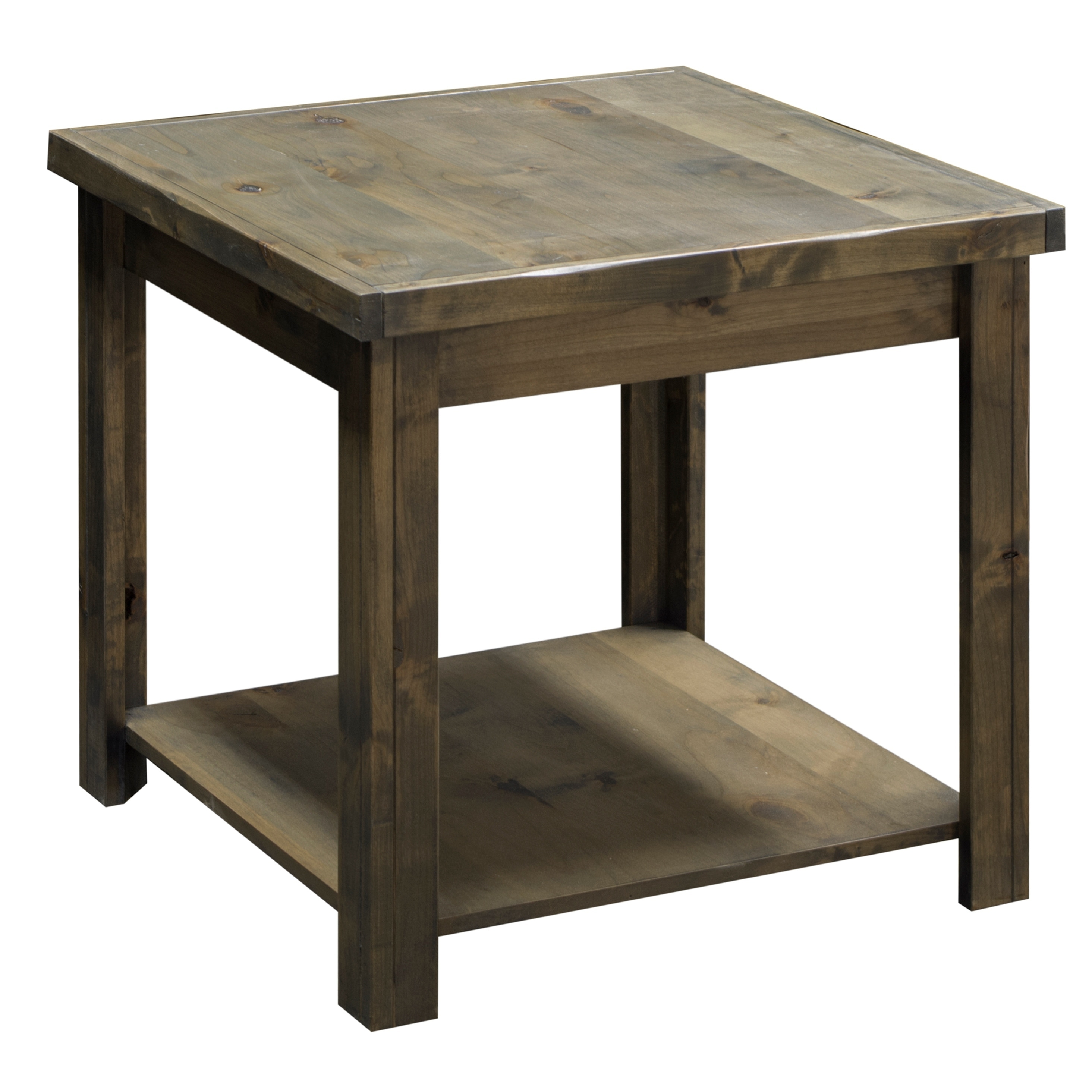 Pleasant Carbon Loft Pendragon Brown Barnwood End Table Interior Design Ideas Gentotryabchikinfo