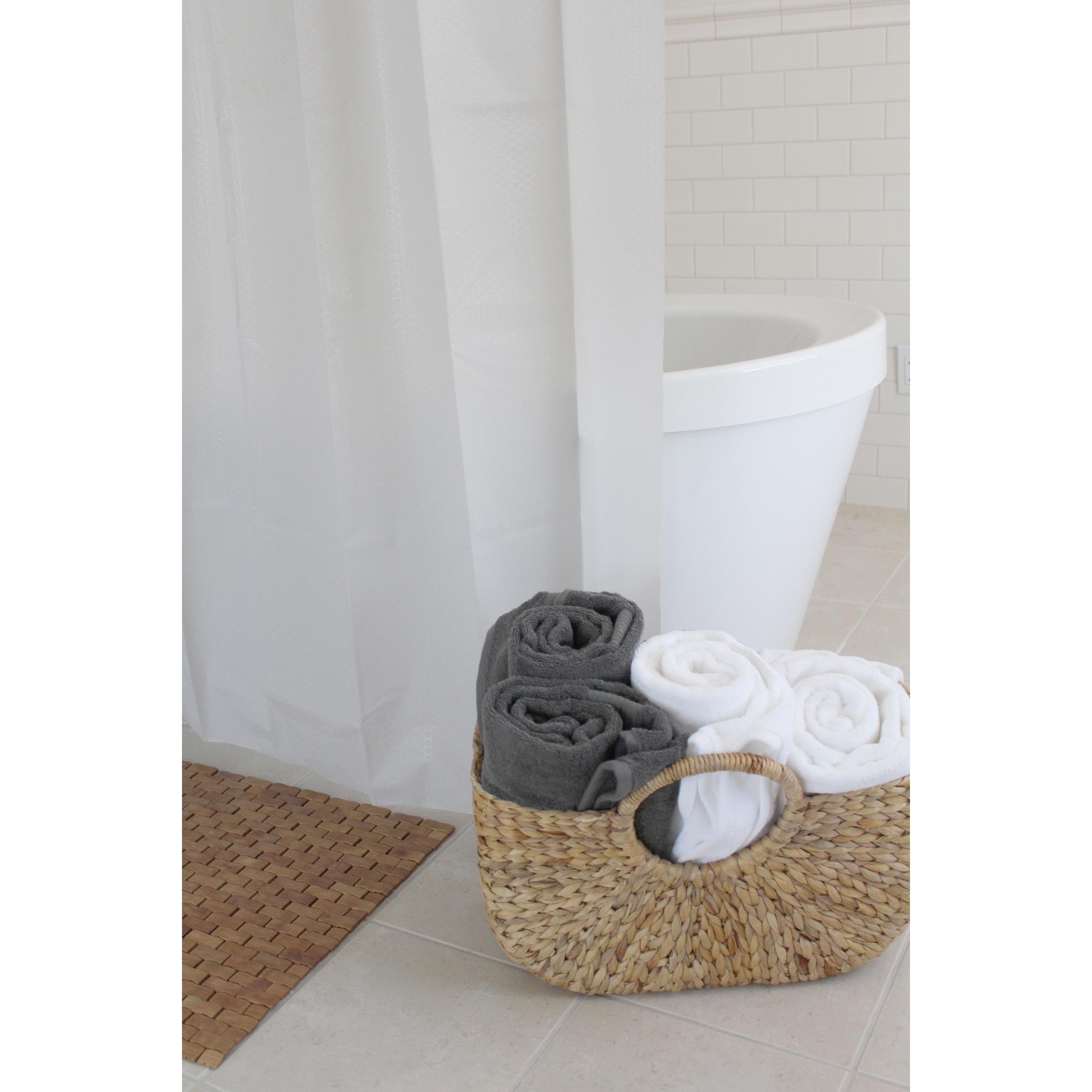 Shop Splash Home Motto PEVA Shower Curtain 72 X 70