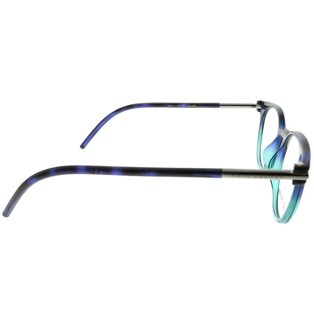 7a687fd069 Shop Marc Jacobs Round Marc 51 TML Unisex Havana Blue Aqua Frame Eyeglasses  - Free Shipping Today - Overstock - 23553994