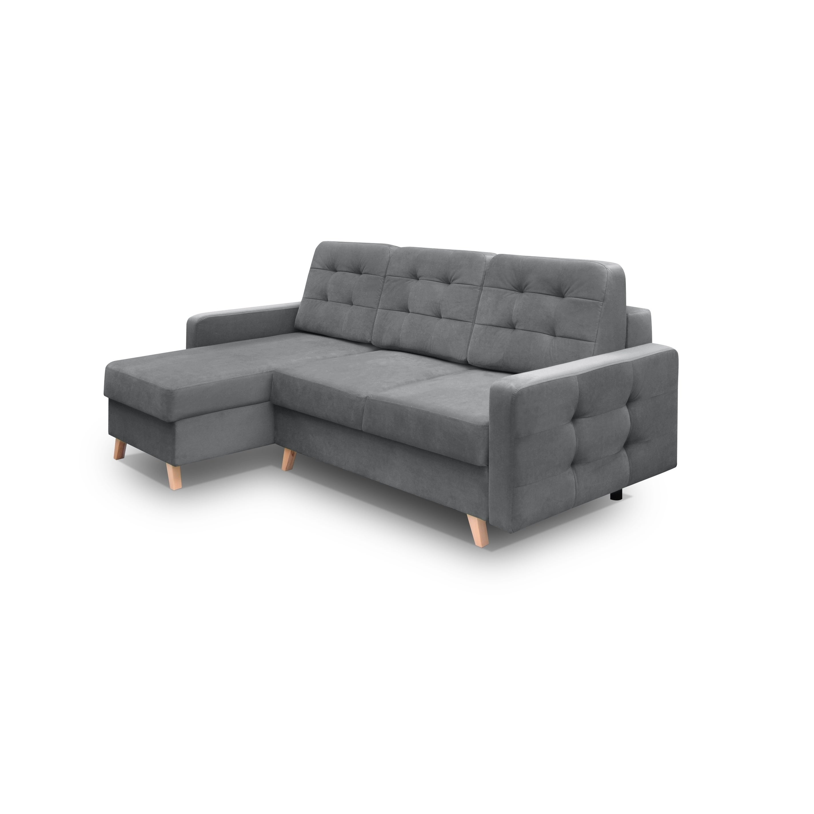 Vegas Futon Sectional Sofa Bed Queen Sleeper With Storage On Free Shipping Today 23558765