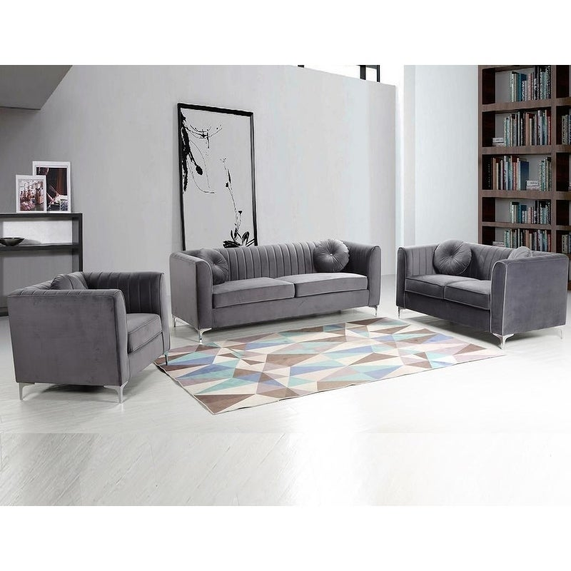 4d7eab6b3060 Shop Best Master Furniture 3 Pieces Living Room Set - Free Shipping Today -  Overstock - 23561982