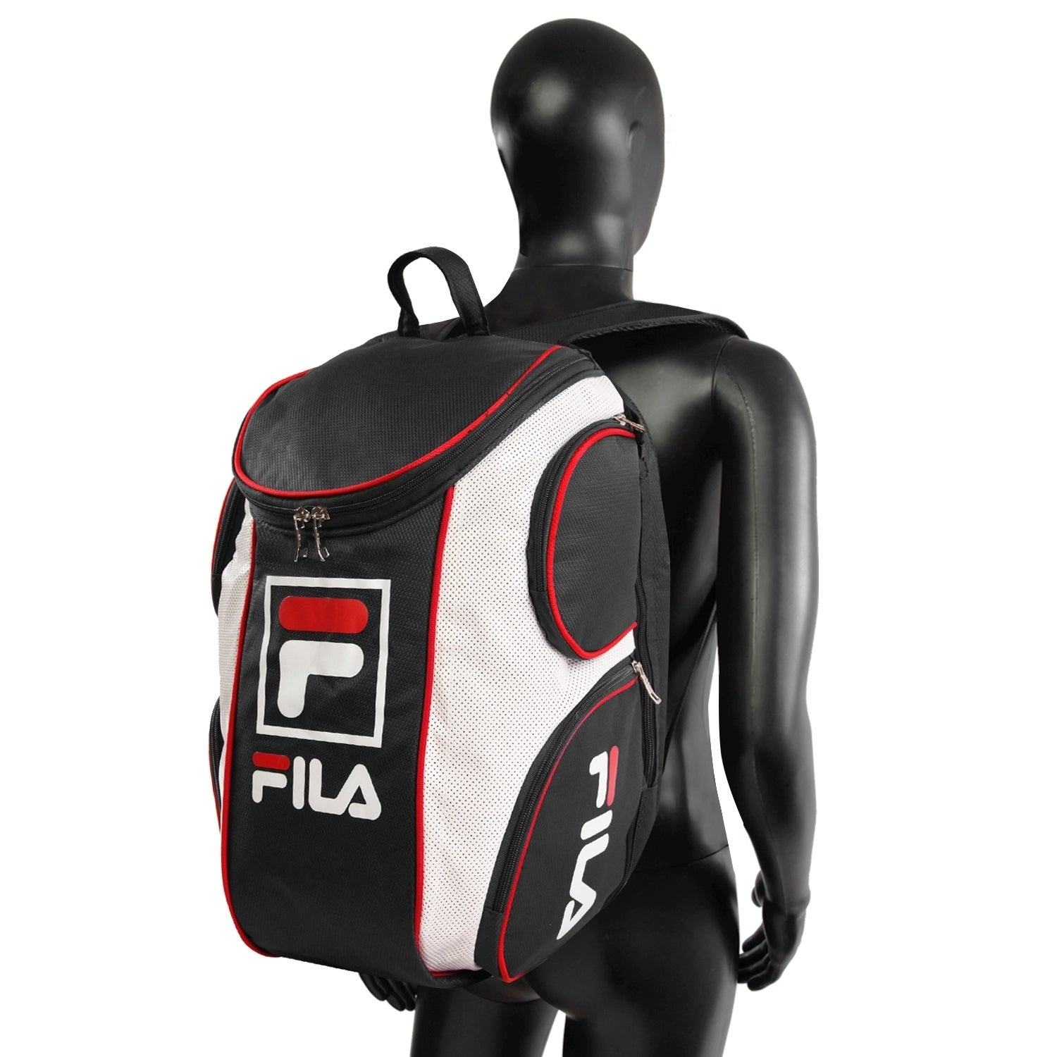 Shop Fila Heritage Tennis Backpack with Shoe Pocket - Ships To Canada -  Overstock - 23562271