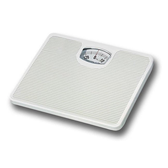 Shop Home Basics Non Skid Mechanical Bathroom Scale   Free Shipping On  Orders Over $45   Overstock.com   23565132