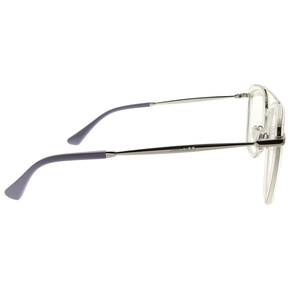 7cada37a618b Shop Jimmy Choo Square JC 219 900 Unisex Crystal Frame Eyeglasses - Free  Shipping Today - Overstock - 23582461