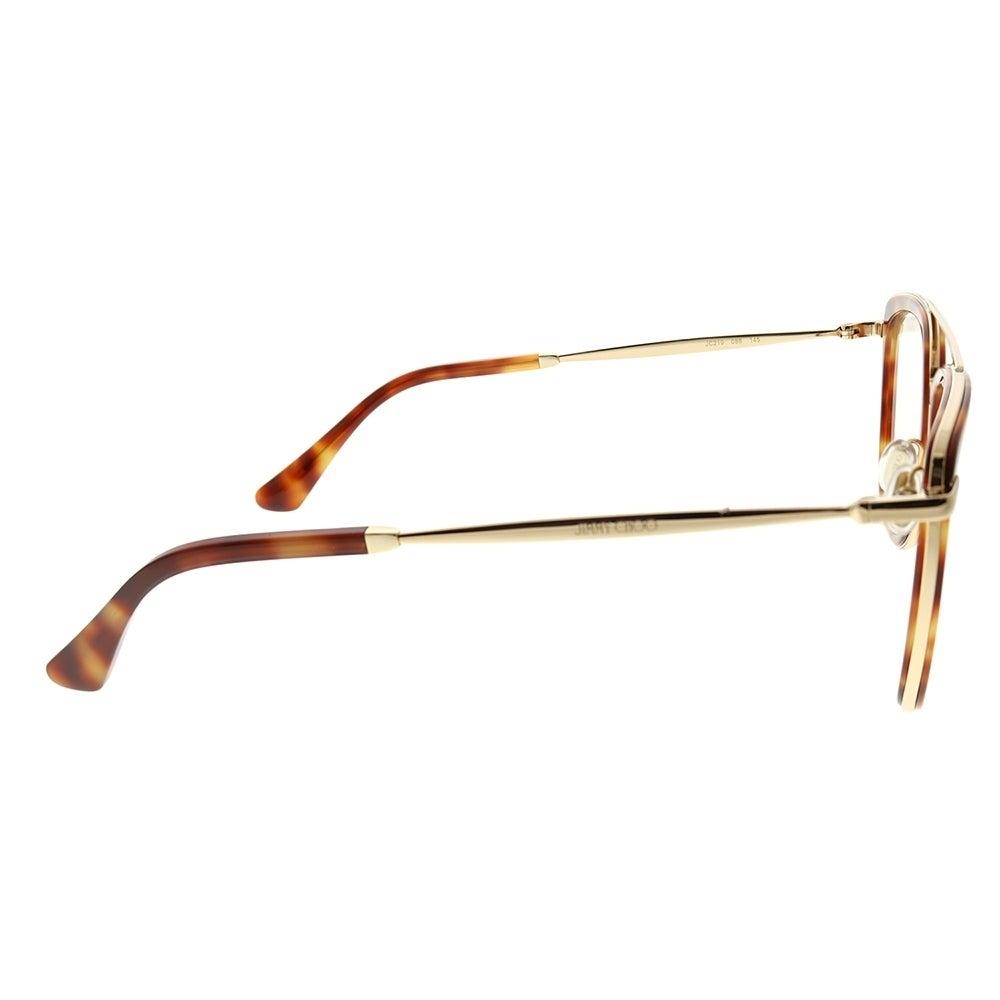 2ae591e2b717 Shop Jimmy Choo Square JC 219 086 Unisex Dark Havana Frame Eyeglasses -  Free Shipping Today - Overstock - 23582470