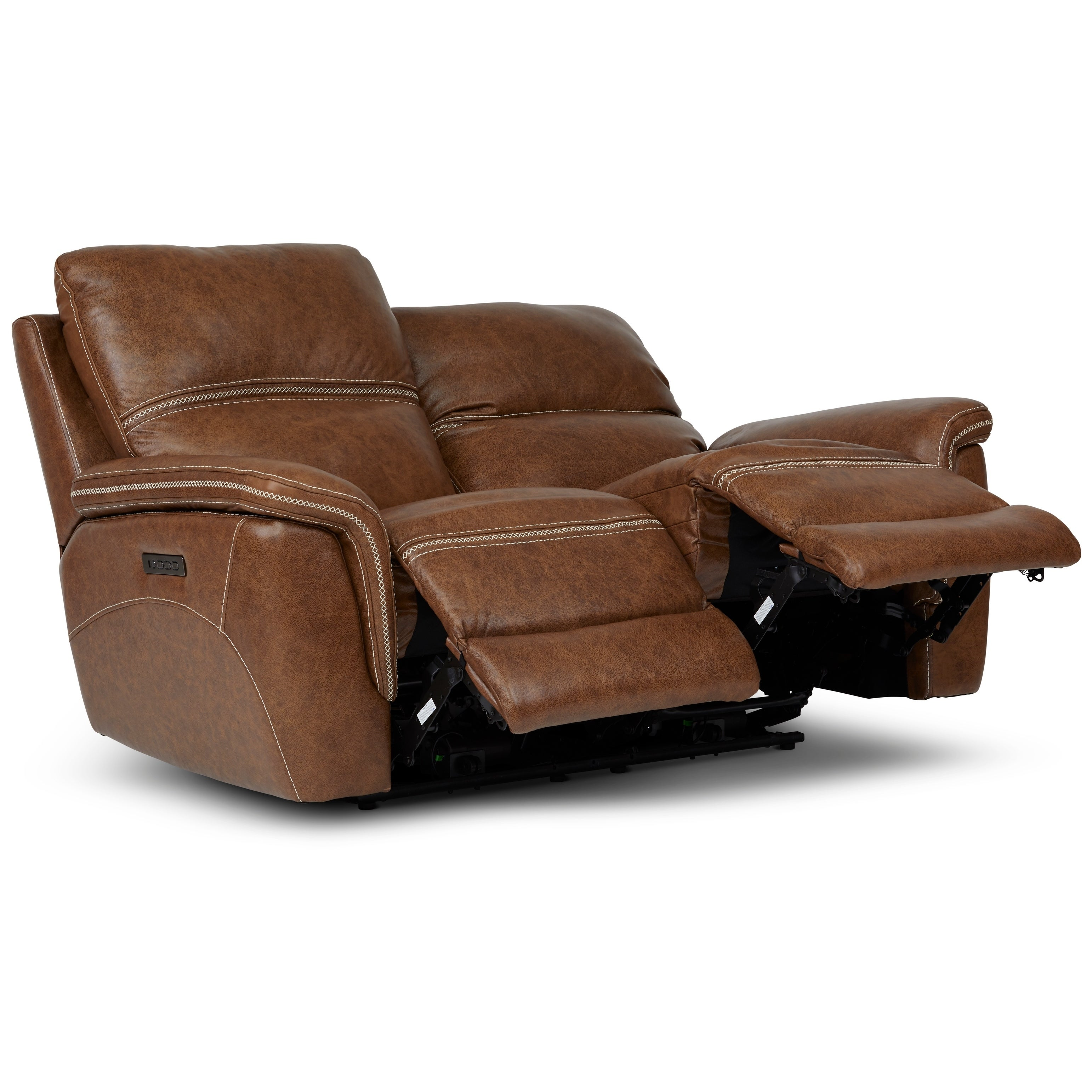 Shop Mason Reclining Loveseat With Power Headrest And Lumbar Support