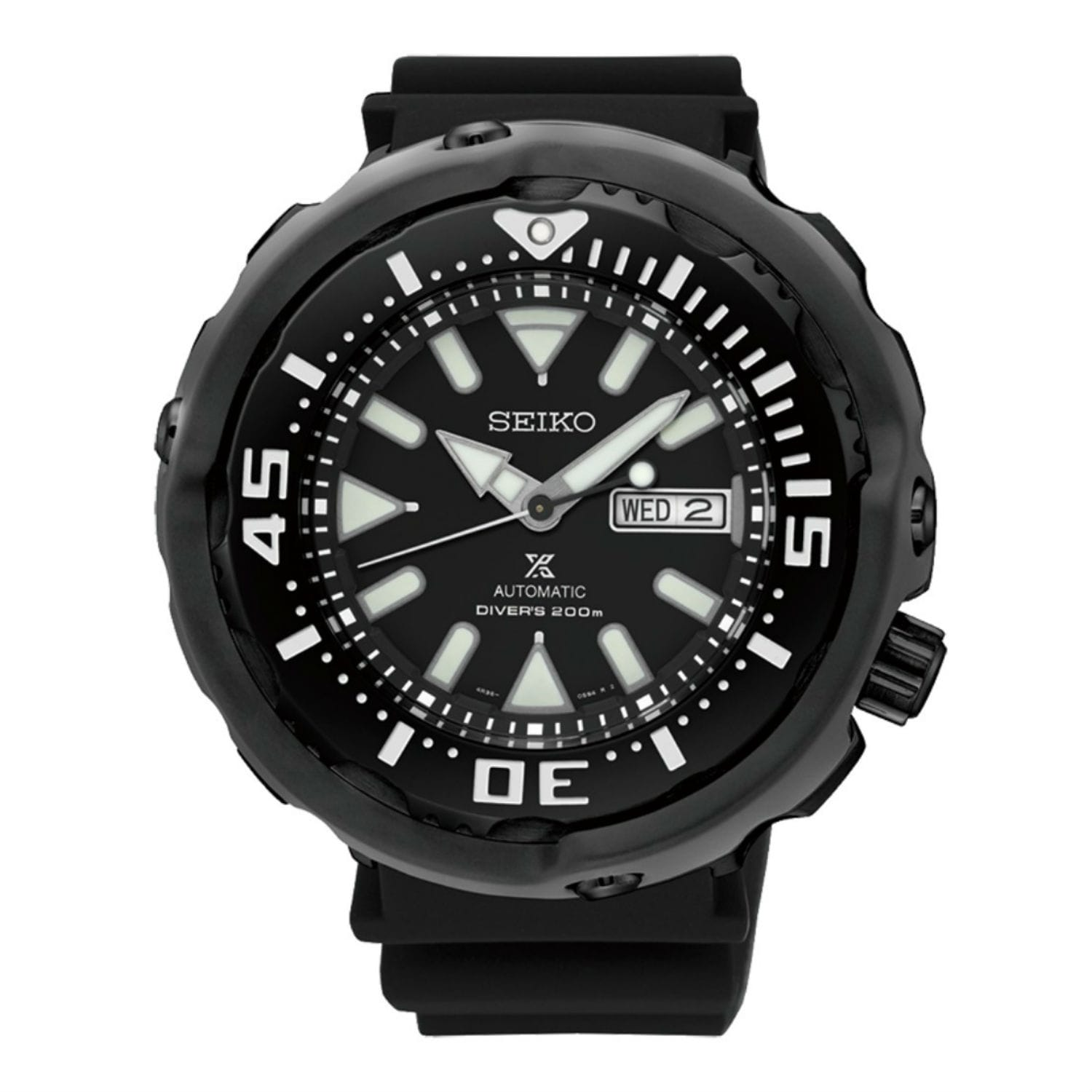 Seiko Prospex Srpa81j1 Black Dial Watch