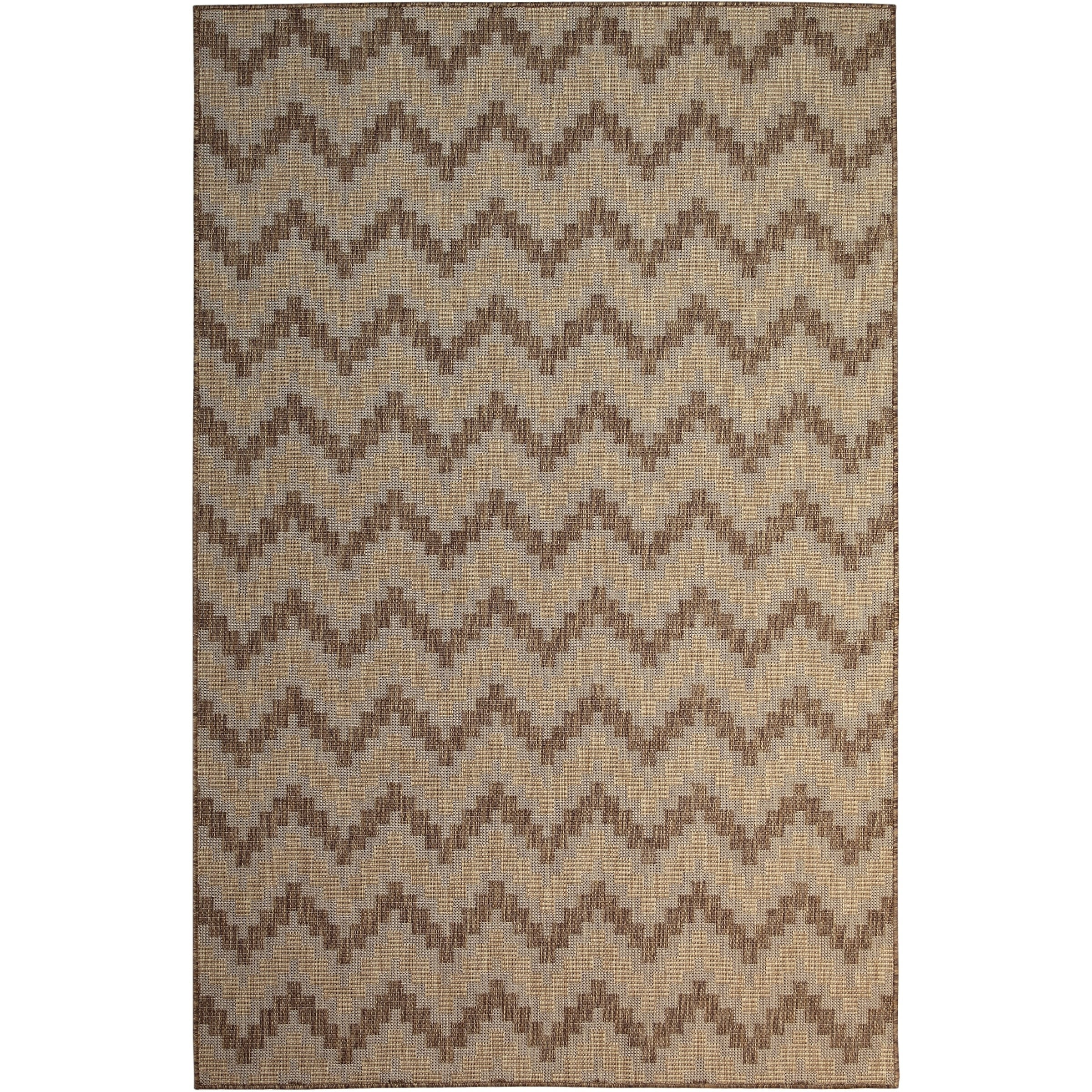 Shop Catalina Home Taupe 5 X8 Indoor Outdoor Rug 5 X 8 On