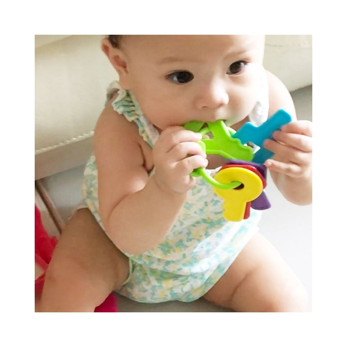Shop Innoka Fda Approved Bpa Free Baby Teether Toys Keys With