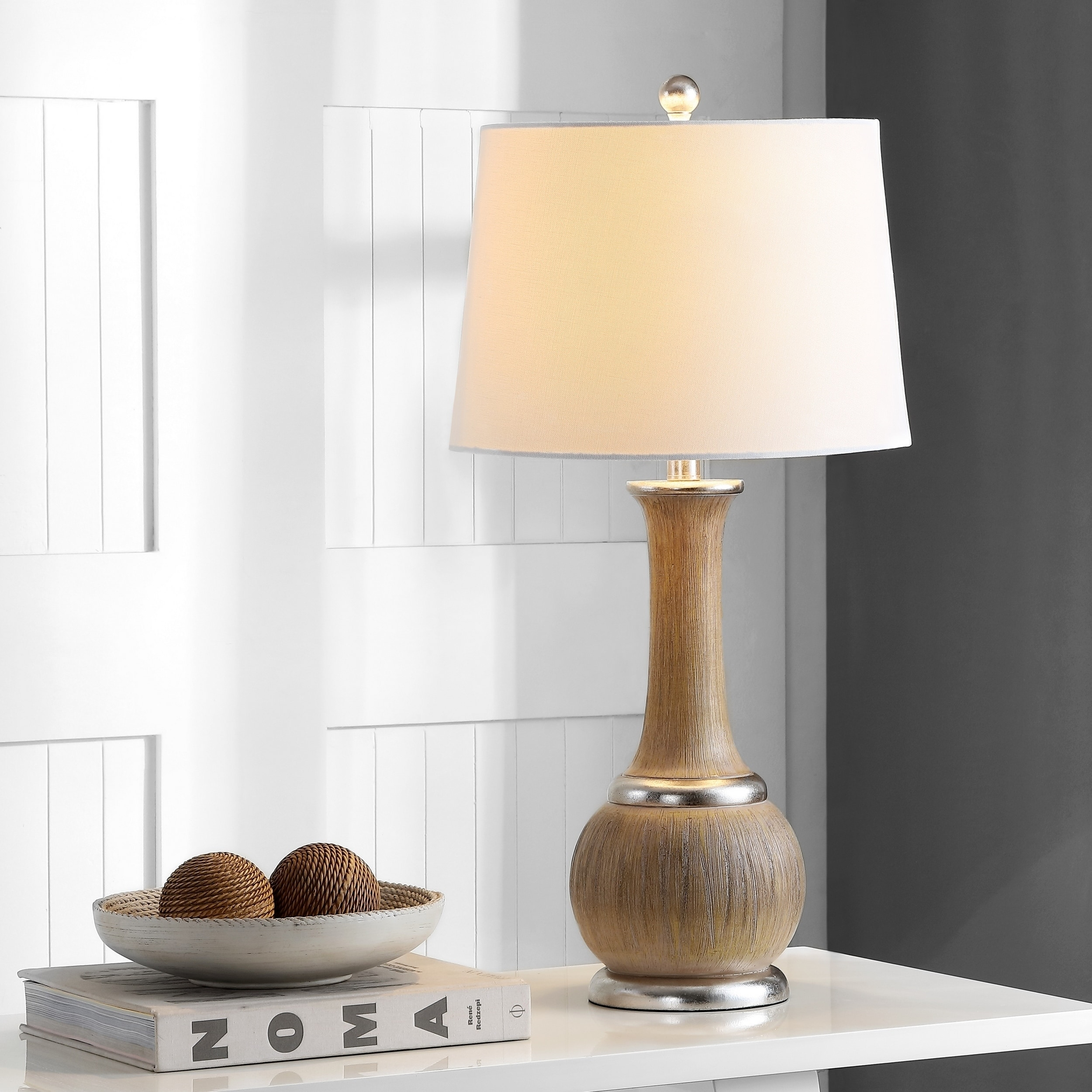 Safavieh Lighting Nash Table Lamp 28 5 Inch Silver 14 X On Free Shipping Today 23614754
