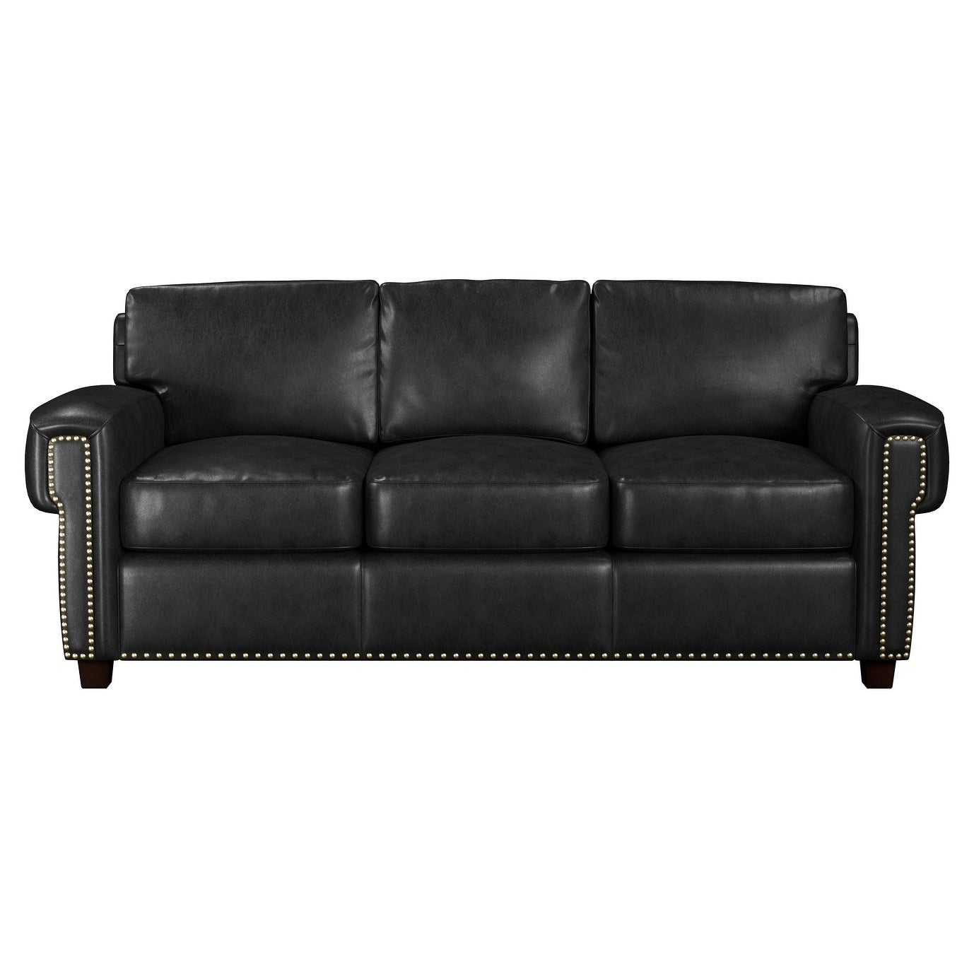 shop made to order como 100 top grain leather queen sleeper sofa rh overstock com american leather queen sleeper sofa black leather queen sleeper sofa