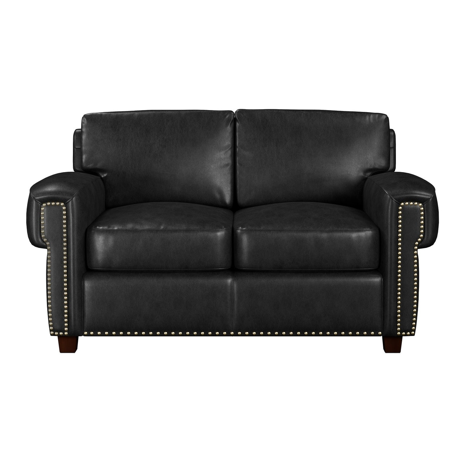 Shop Made to Order Como 100% Top Grain Leather Twin Sleeper Sofa ...