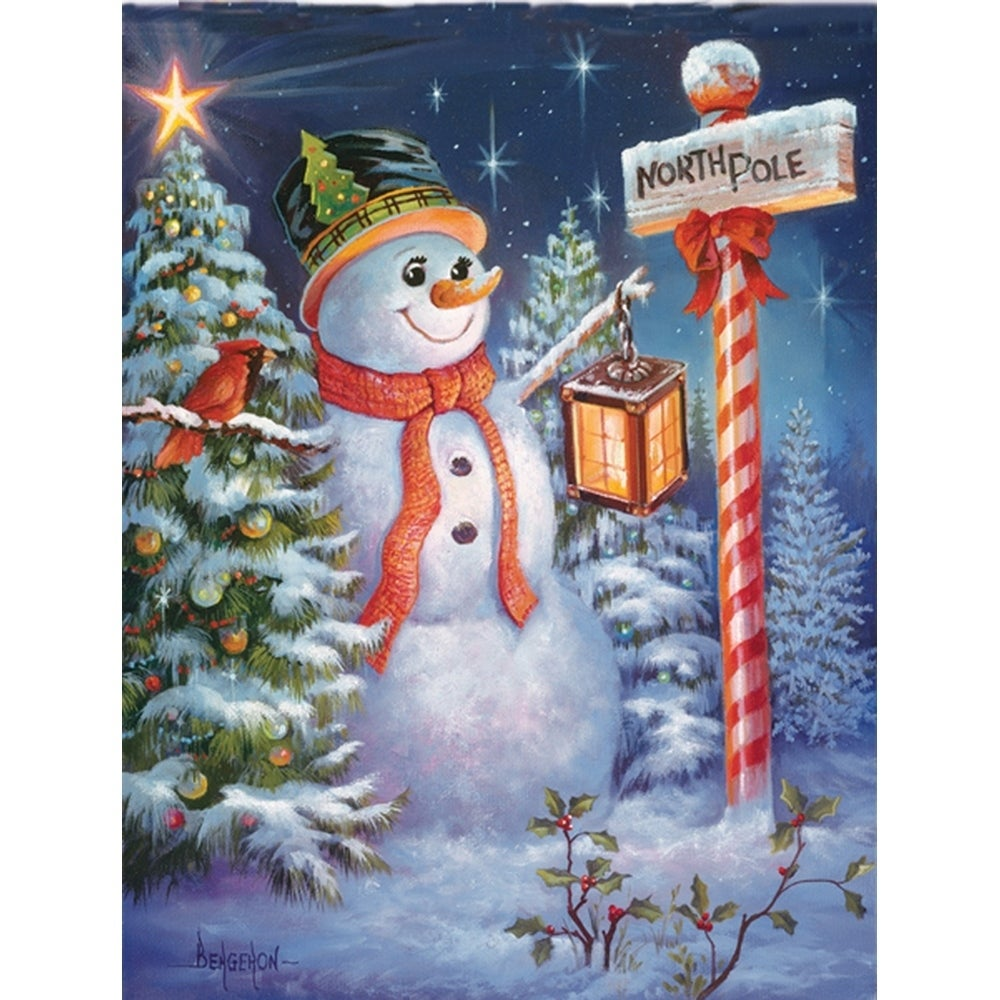 Shop North Pole or Bust Christmas Puzzle 500 Piece Puzzle - On Sale ...