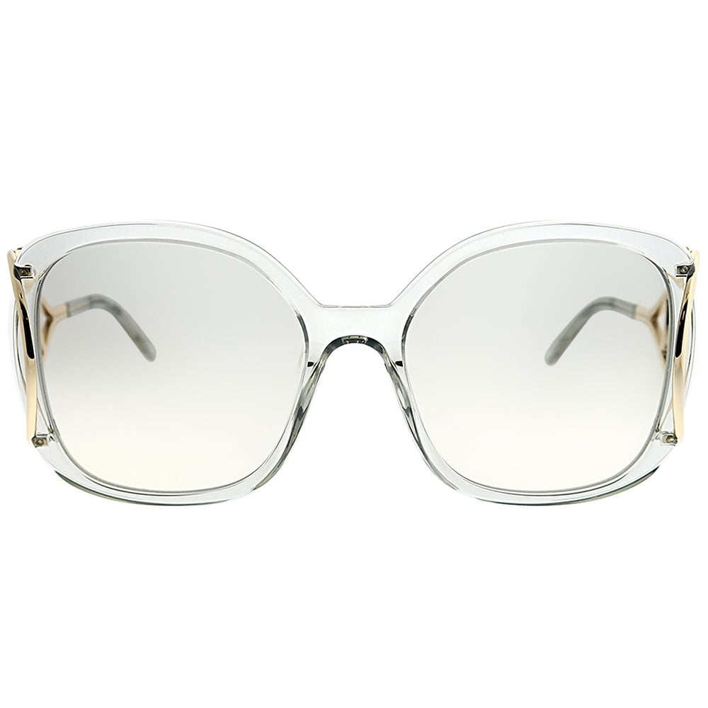 d60058897391 Shop Chloe Square CE 702S Jackson 038 Women Light Grey Frame Grey Gradient  Lens Sunglasses - On Sale - Ships To Canada - Overstock - 23624937