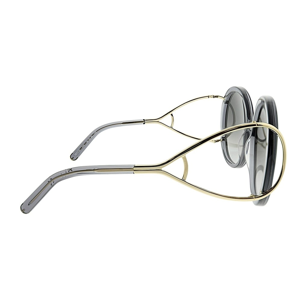 a219bedfc9a6 Shop Chloe Round CE 703S Jackson 035 Women Grey Frame Grey Gradient Lens  Sunglasses - Free Shipping Today - Overstock - 23624940